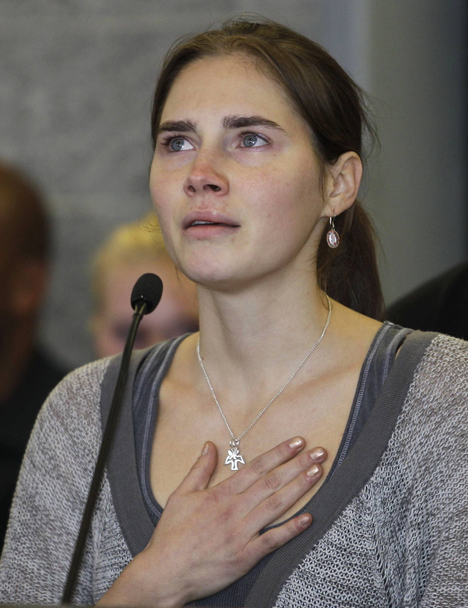 A court in Florence that convicted Amanda Knox in her British roommate's 2007 murder says the wounds indicate multiple aggressors, and that the two exchange students fought over money the night of the murder. The appellate court on Tuesday, April 29, 2014, issued a 337-page explanation for its January guilty verdicts against Knox and her former boyfriend Raffaele Sollecito.