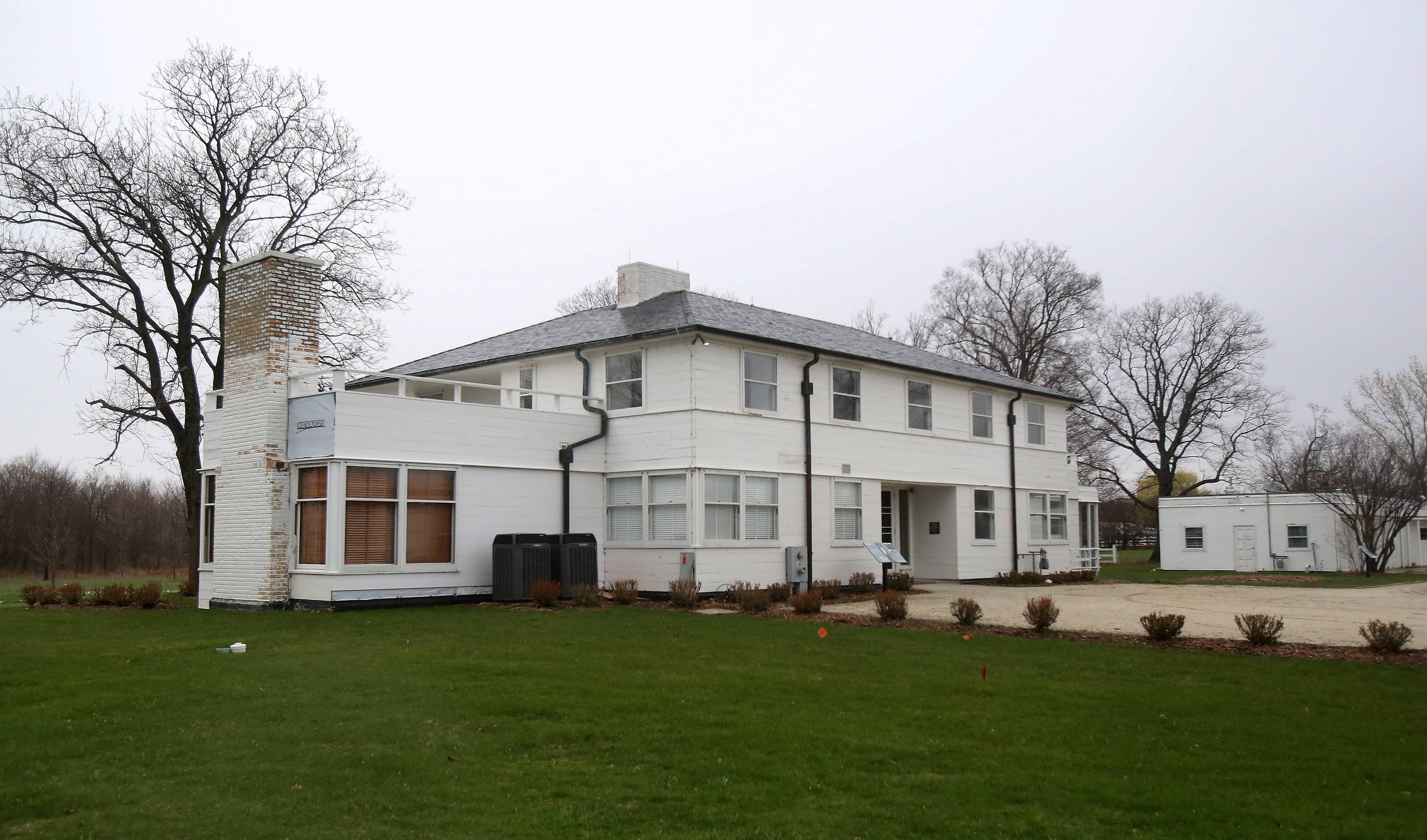 The Adlai E. Stevenson II Historic Home in Mettawa was built in 1938 by Stevenson and his wife, Ellen Borden, and is located in Wright Woods Forest Preserve and owned by the Lake County Forest Preserve District.