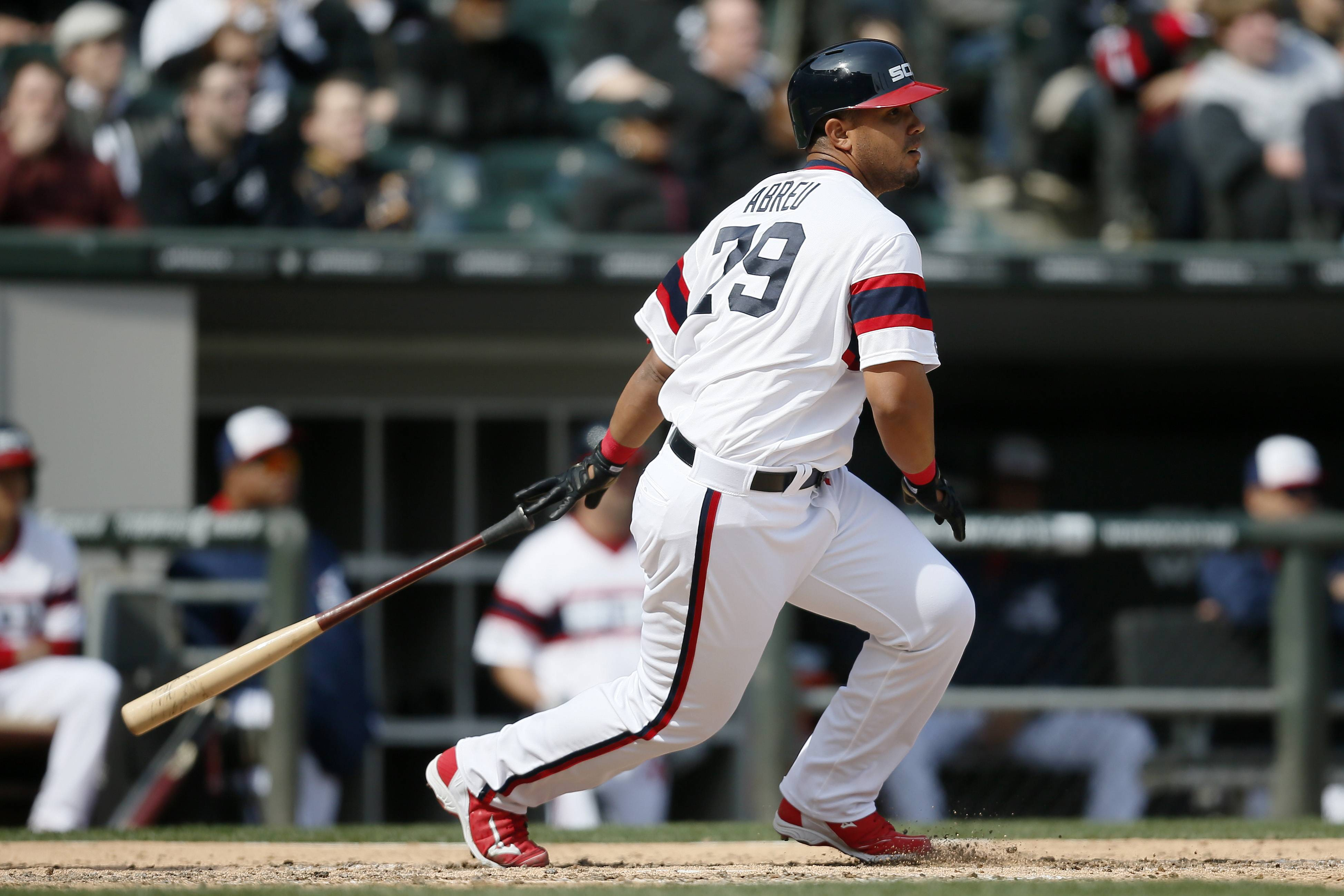 Associated PressChicago White Sox first baseman Jose Abreu set two records in April with the most home runs and RBIs by a rookie.