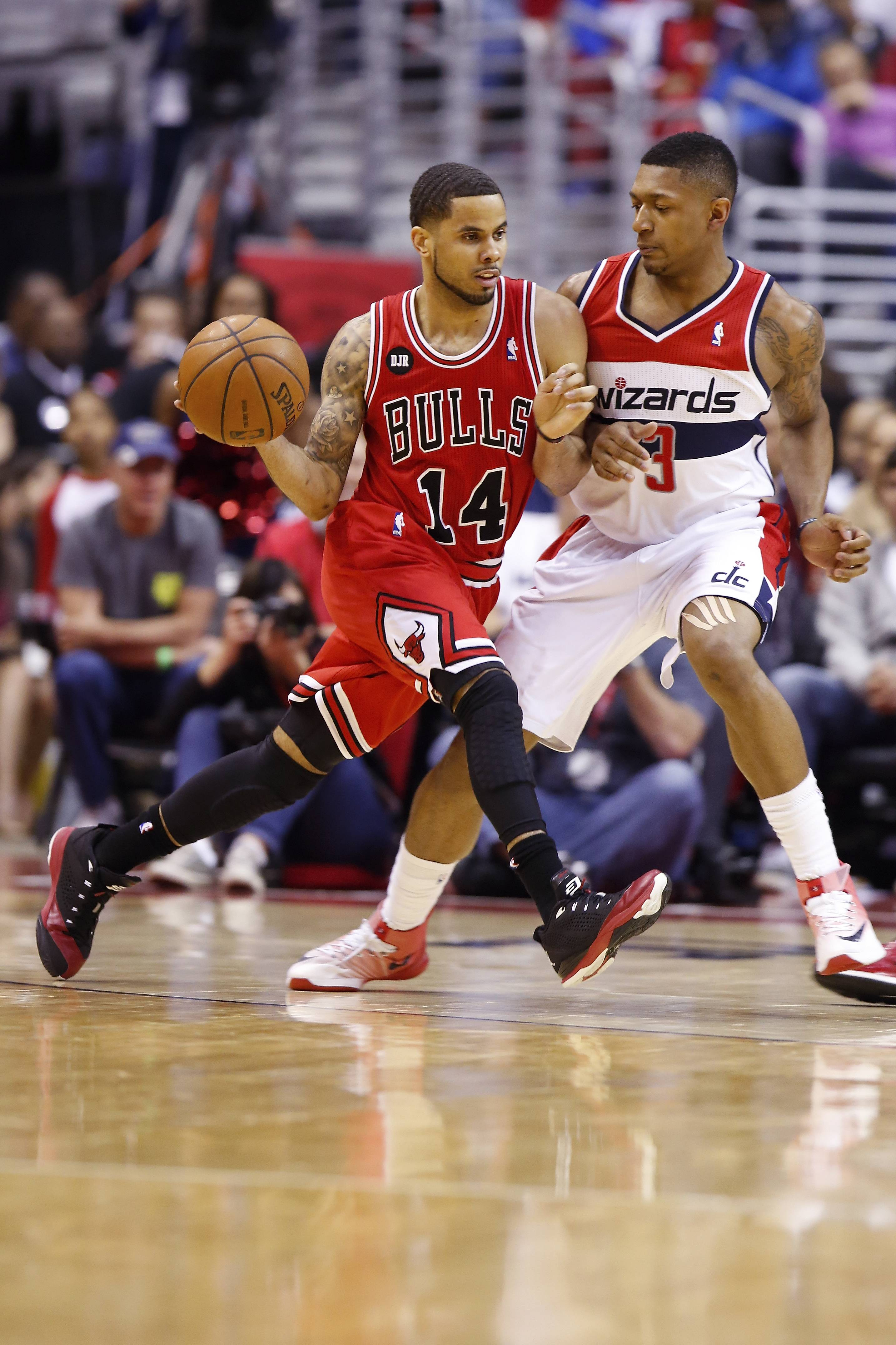 D.J. Augustin struggled in the playoffs, but he was the Bulls' leading scorer, at 14.9 points per game, from the time he joined the team on Dec. 13.