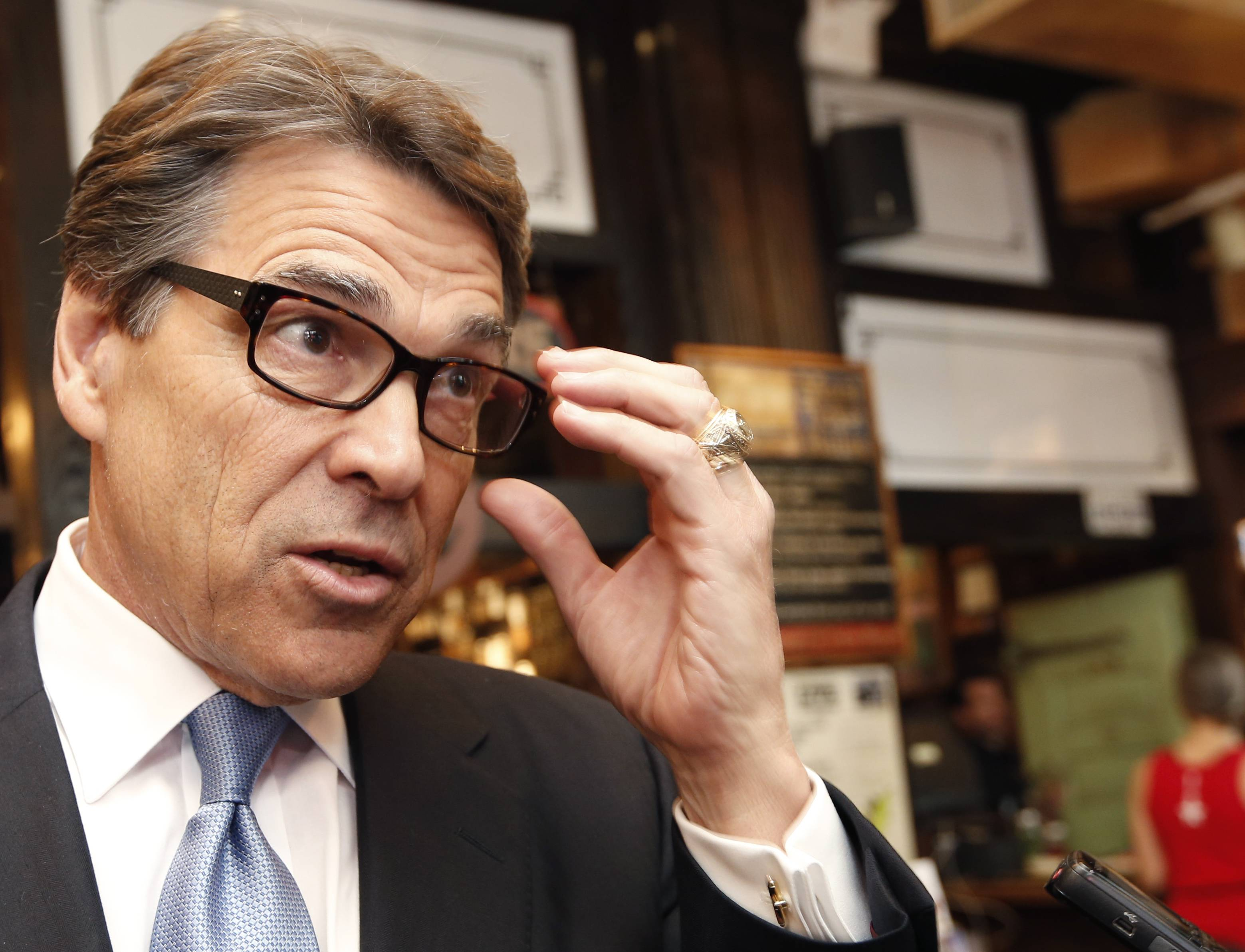 With eight months left in office, Gov. Rick Perry isn't kicking back at the governor's mansion. Rebounding from his gaffe-marred presidential run in 2012, Perry is doubling down on the argument that his low-tax, low-regulation approach as governor since 2000 has been the driving force behind Texas' tops-in-the-nation job growth.