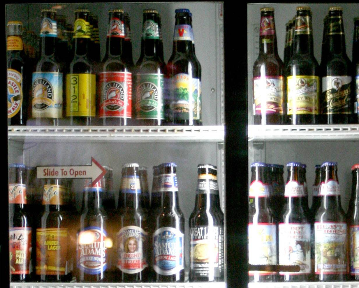 A new Chicago ordinance permits beer, wine and hard liquor sales starting at 8 a.m. on Sundays at large grocery stores.