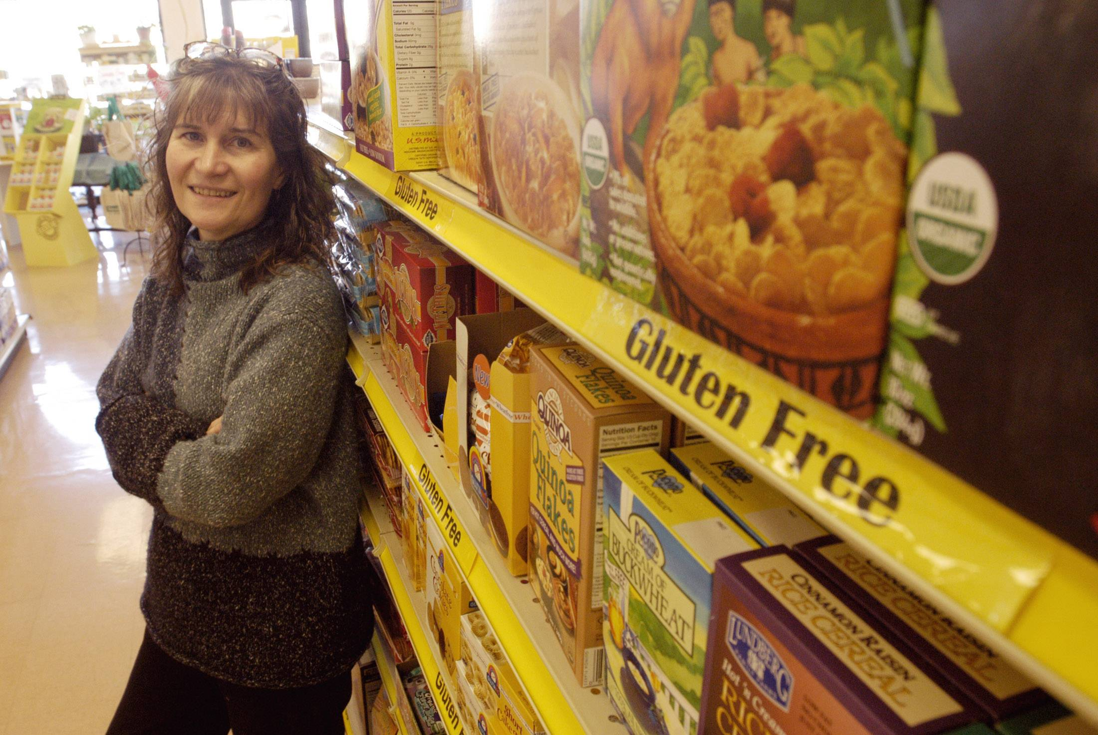 JR Carmany is an owner of Soup to Nuts Alternative Grocery in Geneva, which is celebrating its 35th anniversary with an open house Saturday, May 3.