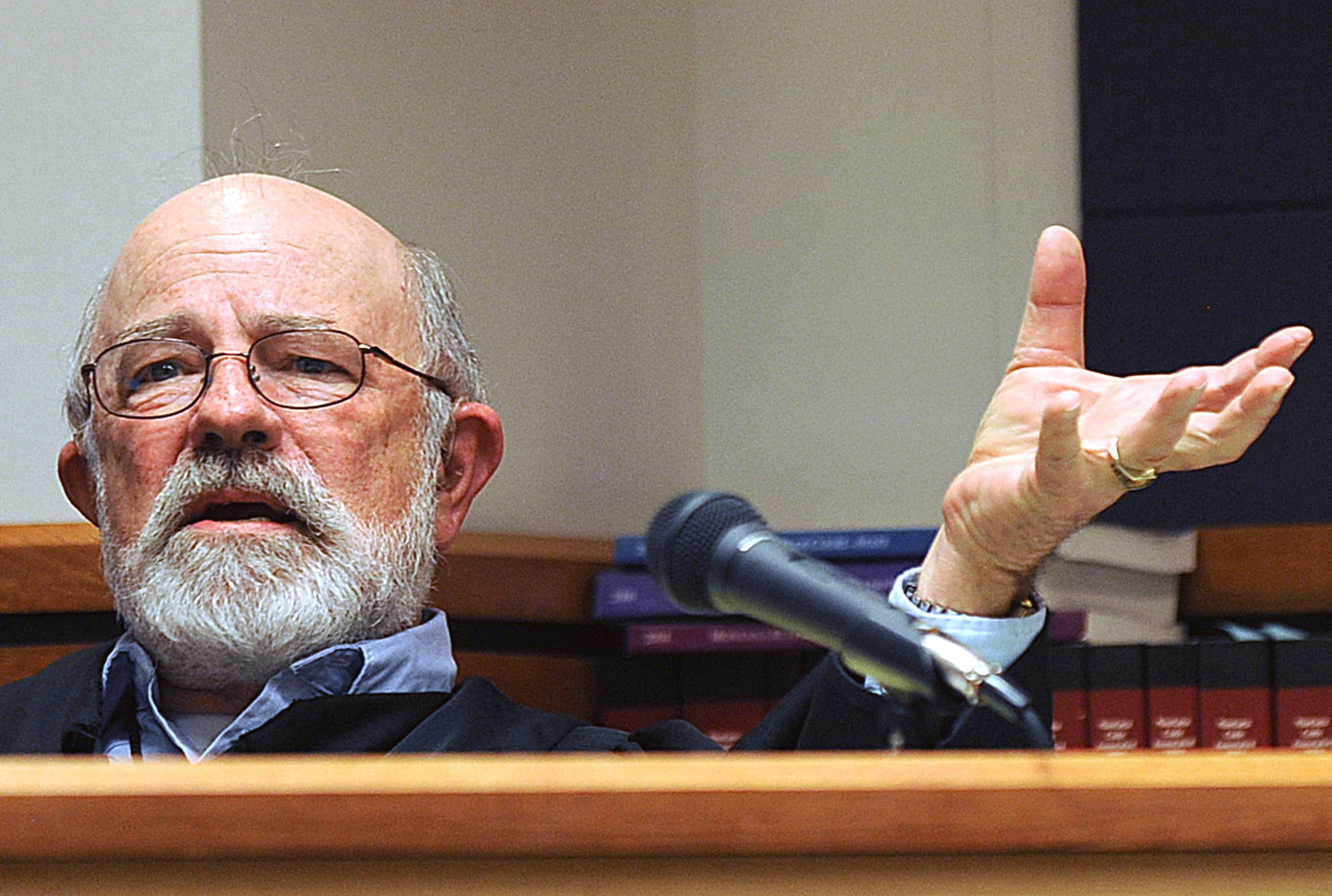 District Judge G. Todd Baugh. The Montana Supreme Court overturned a one-month prison sentence given to former high school teacher Stacey Dean Rambold, who was convicted of raping a 14-year-old student. The decision cited in part the actions of Baugh, who suggested the young victim shared responsibility for her rape because she had some control over the situation.