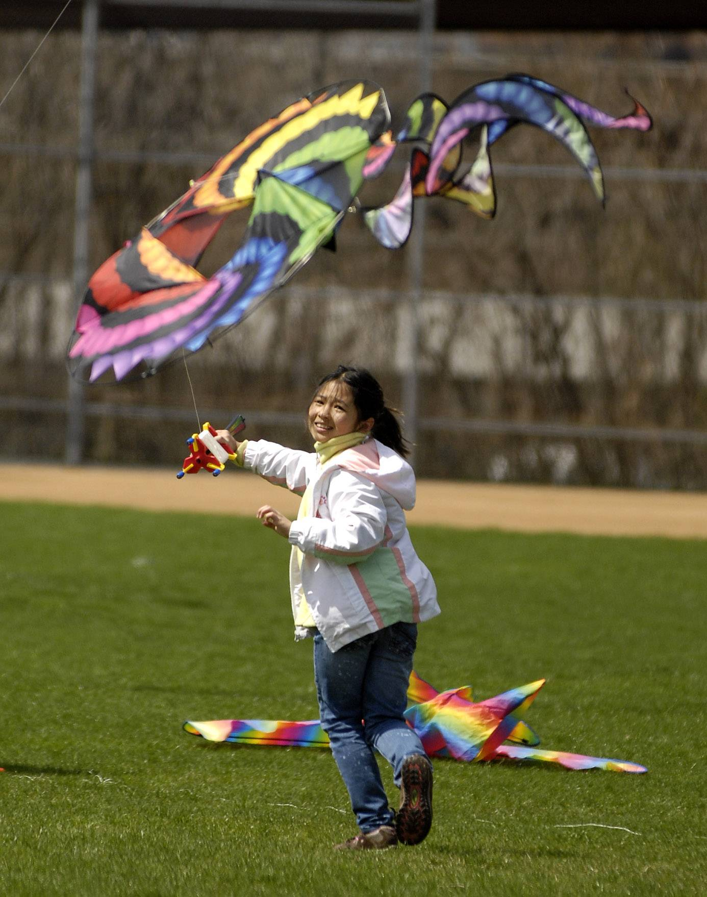 The Wheaton Park District is hosting its annual Go Fly a Kite event at Graf Park from 10 a.m. to 2 p.m. Saturday, May 3.