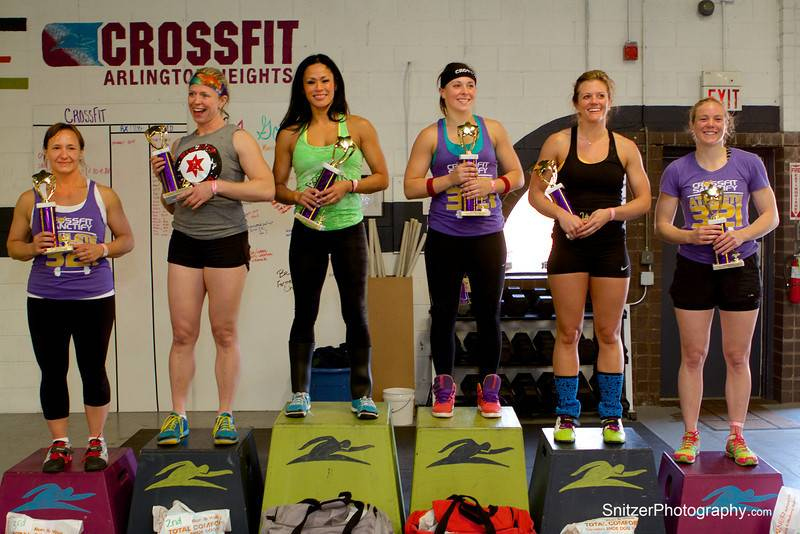 2014 Athena Classic Top Finishers. The Master's Division: Deb Pirkel, CrossFit Sanctify; Jennifer Benson, Big City CrossFit; Liza Nelson, CrossFit Carbon. The Open Division: Anna Schmidt, CrossFit Sanctify; Ashley Beerens, CrossFit Northpoint; Anne-Lisa Maag, CrossFit Sanctify.Tom Snitzter