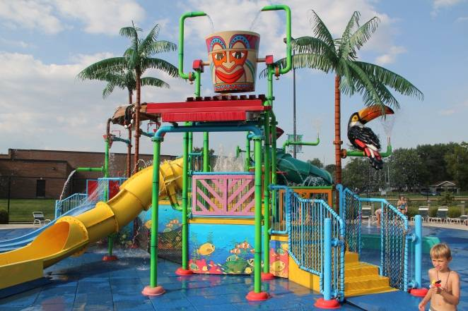 Atcher Island is the District's tropical-themed water park.Schaumburg Park District