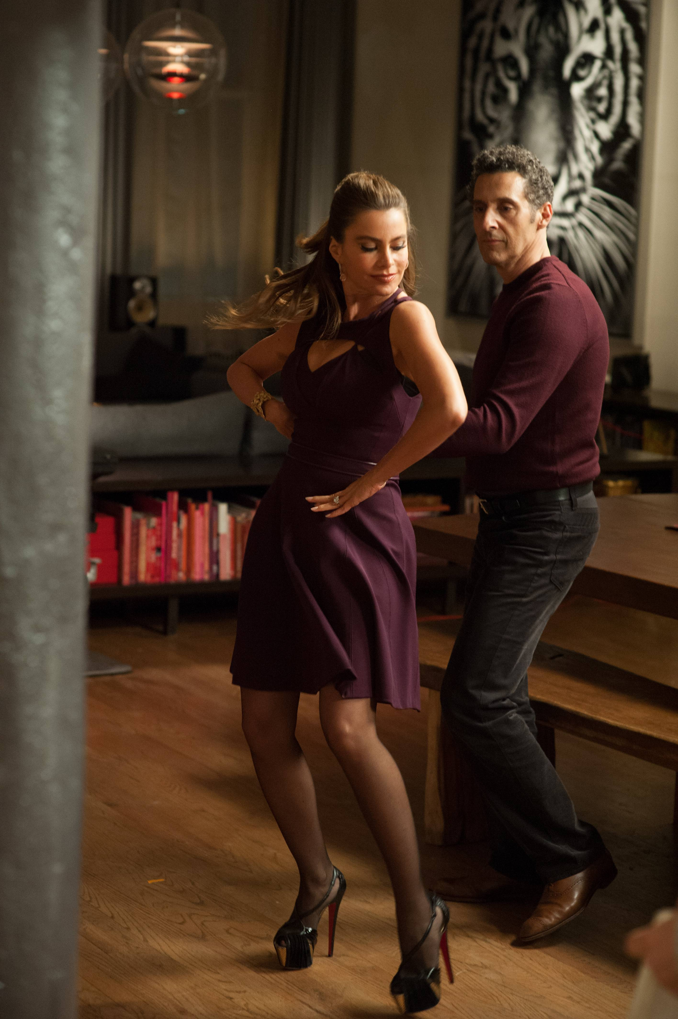 "A sexy New Yorker (Sofia Vergara) hires a florist (star/writer/director John Turturro) for sex in the romantic comedy ""Fading Gigolo."""