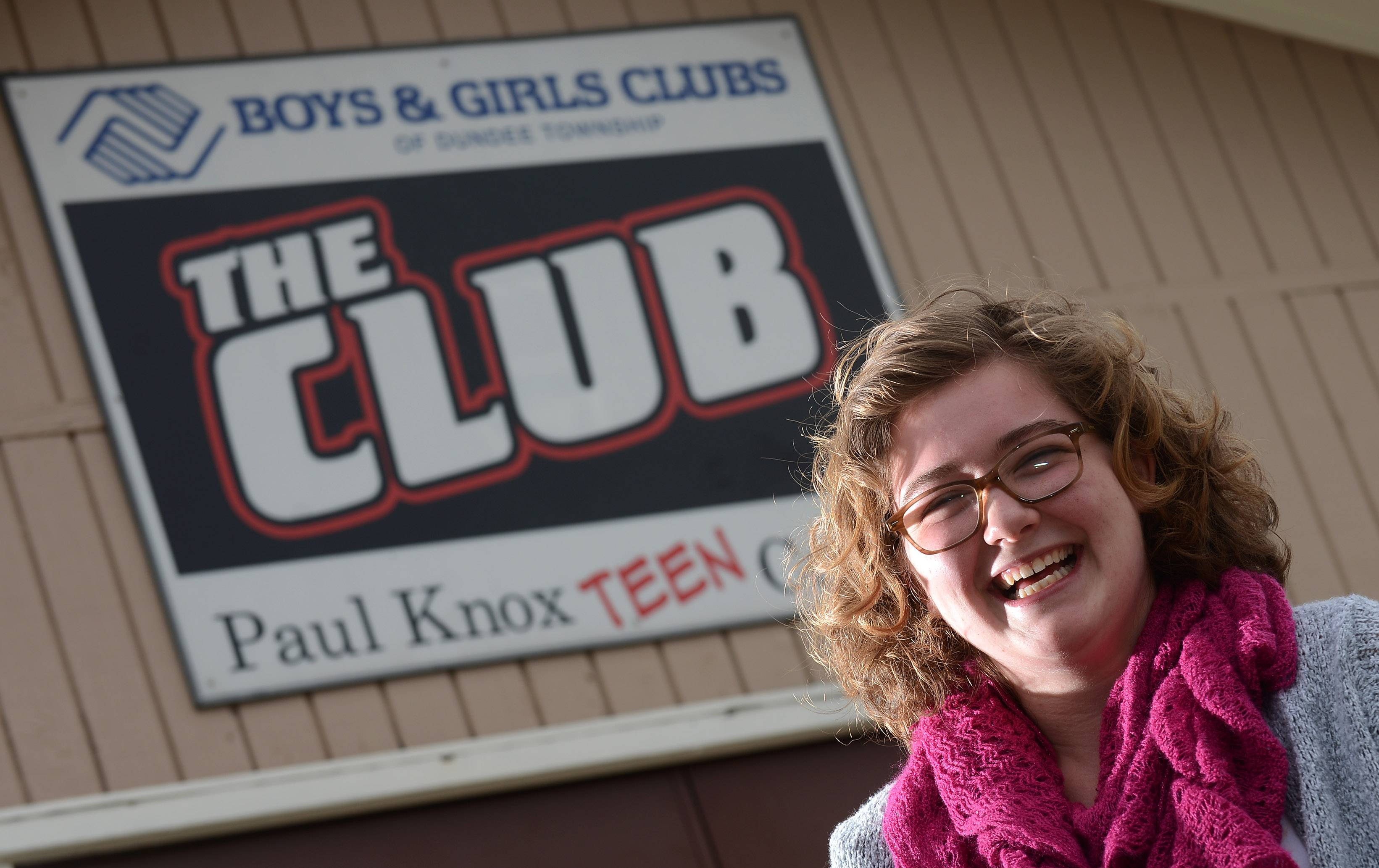 Karri Haiges, 18, of Algonquin, has been named the 2014 Youth of the Year for the Boys and Girls Club of Dundee Township.