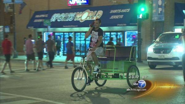 Chicago's City Council is enacting a series of tough new restrictions on the city's pedicab industry.