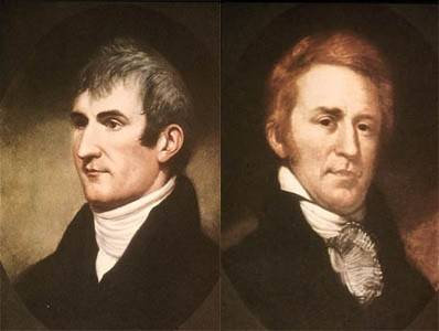 Merriweather Lewis and William Clark