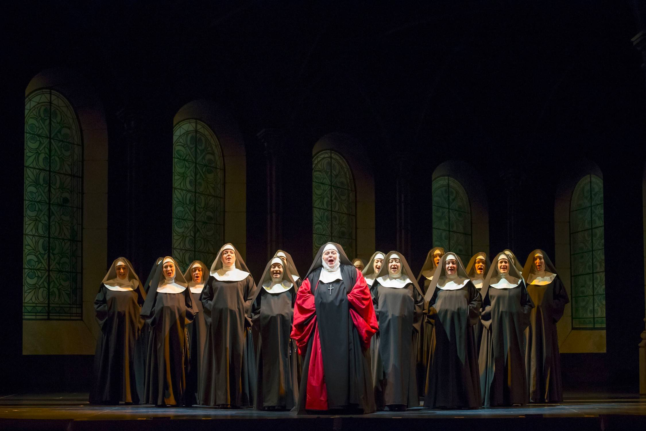 "Among the highlights of Lyric Opera of Chicago's ""The Sound of Music"" is the magnificent nuns chorus, led by soprano Christine Brewer, center."