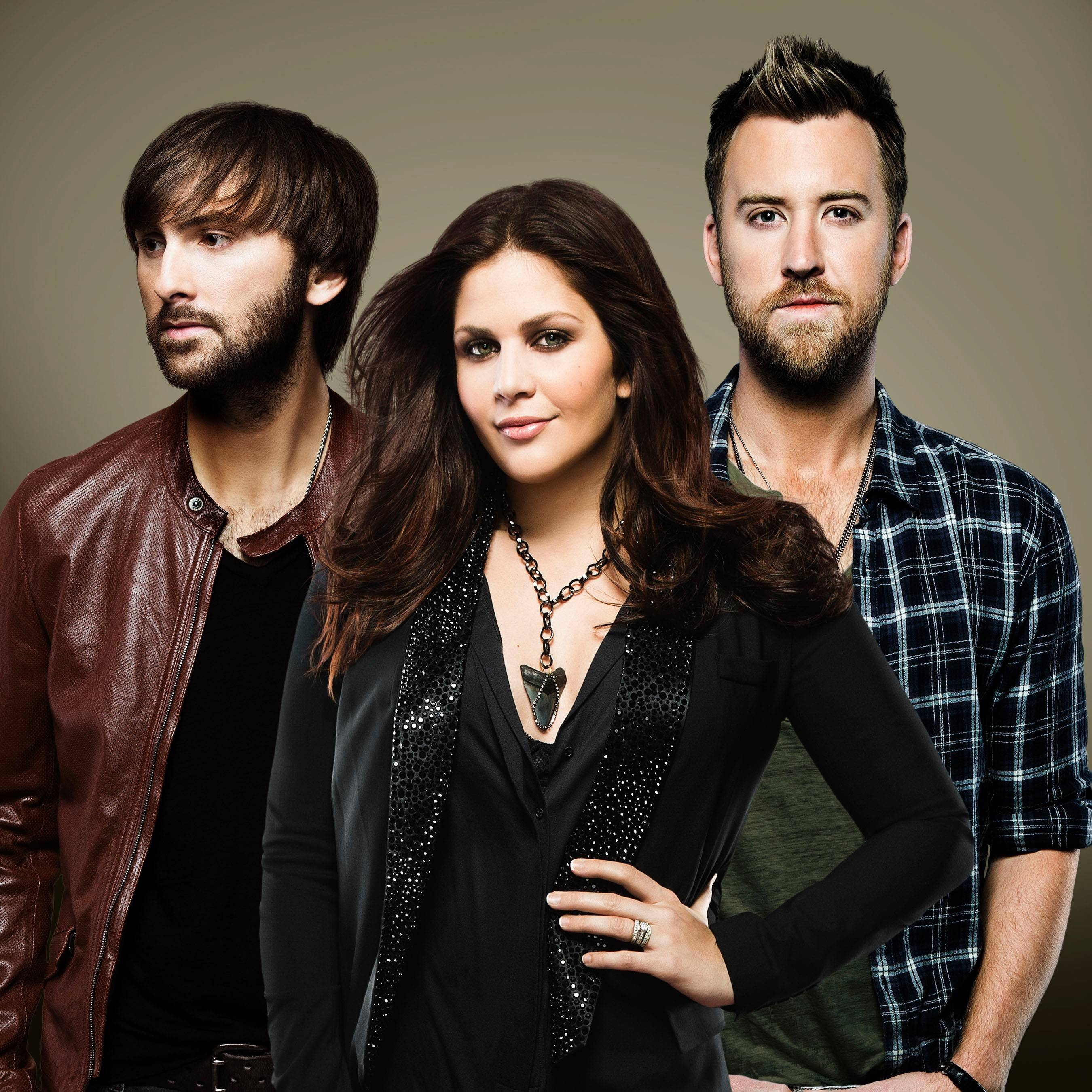Lady Antebellum will headline RiverEdge Park in Aurora this summer.