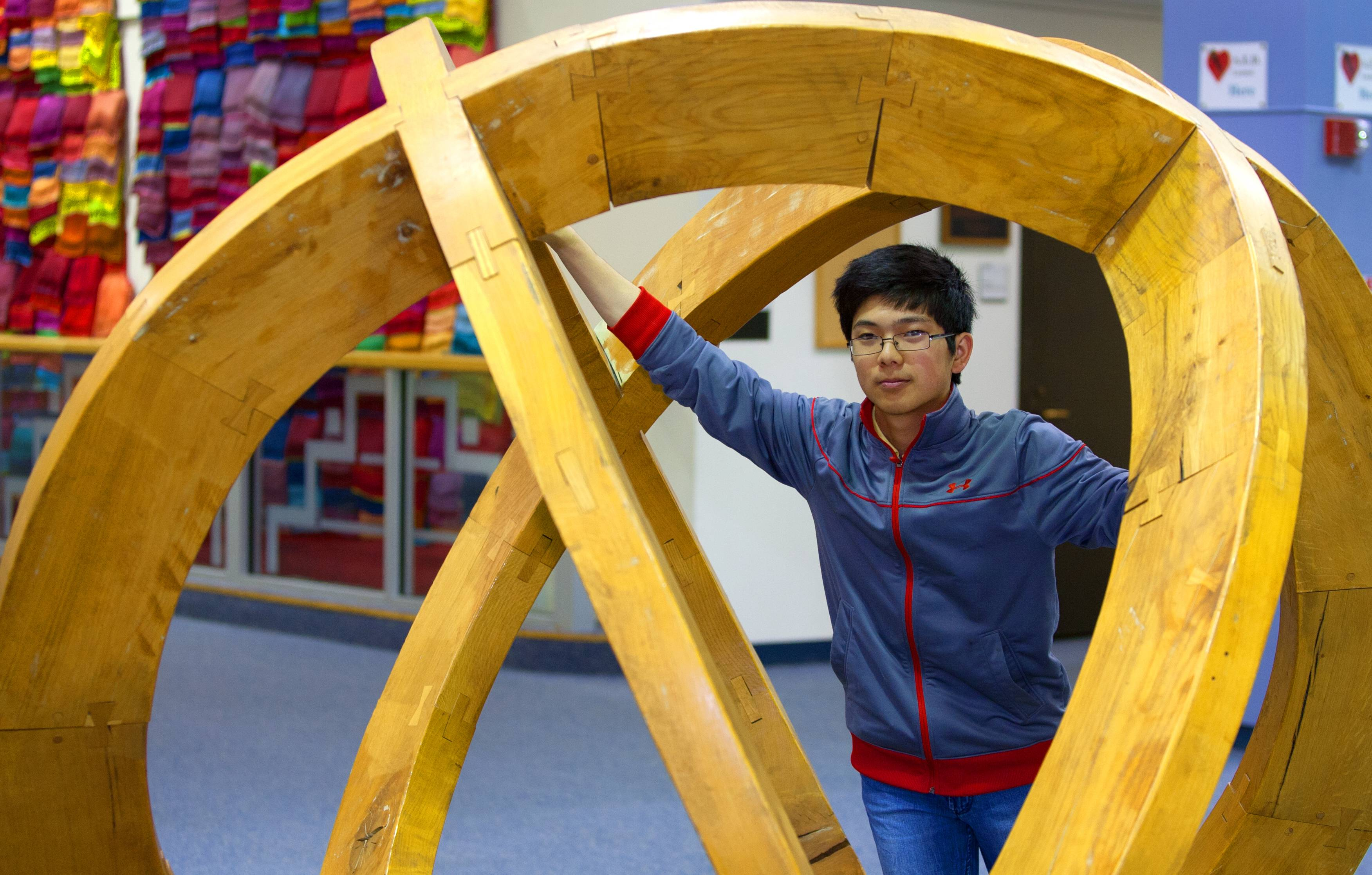 Timothy Zhou of Bolingbrook is a top chess player and math student at the Illinois Mathematics and Science Academy, but his passion is playing the piano, for which he earned a National YoungArts Foundation honorable mention award. He says the three seemingly diverse disciplines have some things in common.