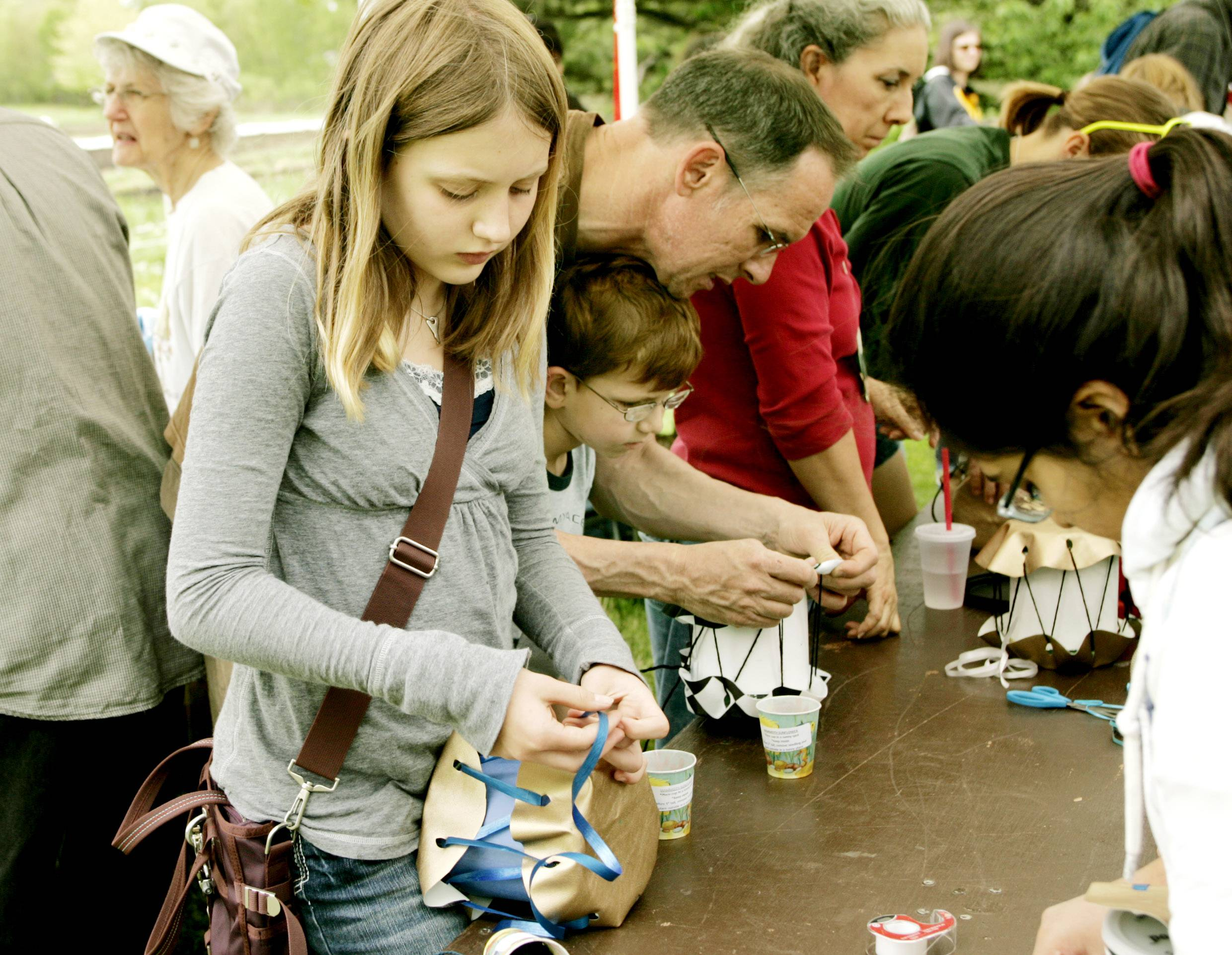 Green Earth Fair attendees can make recycled instruments such as drums out of coffee cans during the annual event from 12:30 to 5 p.m. Sunday, May 4, at McDonald Farm, 10S404 Knoch Knolls Road, Naperville.