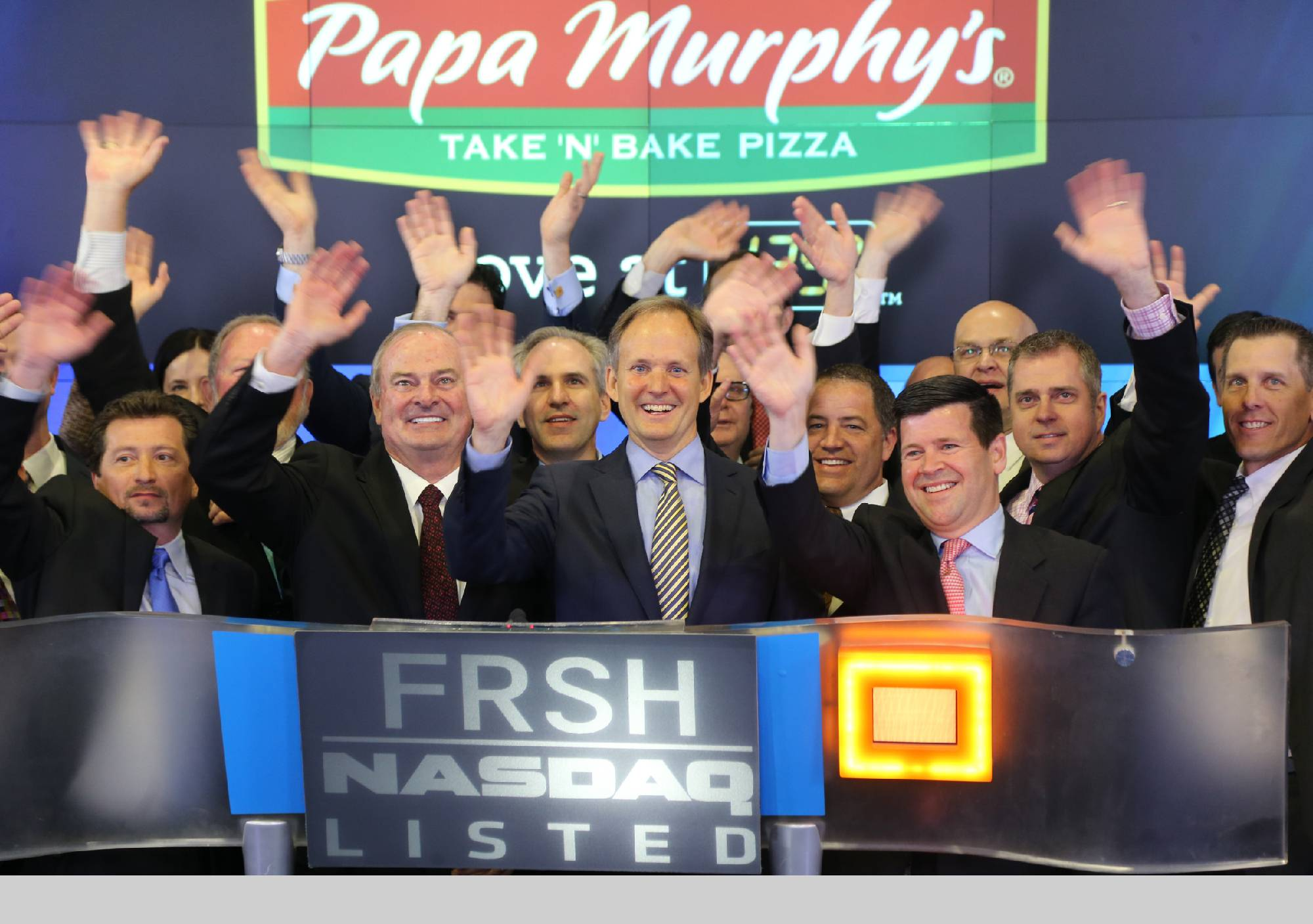 Papa Murphy's Holdings, Inc., the largest Take N' Bake pizza chain in the U.S., opened for trading on The NASDAQ Stock Market on Friday.