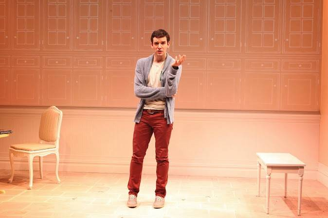 "Michael Urie plays a struggling actor working for Barbra Streisand in the one-man play ""Buyer & Cellar."" The acclaimed off-Broadway production goes on tour starting at the Broadway Playhouse at Water Tower Place in Chicago from Tuesday, May 6, through Sunday, June 15."