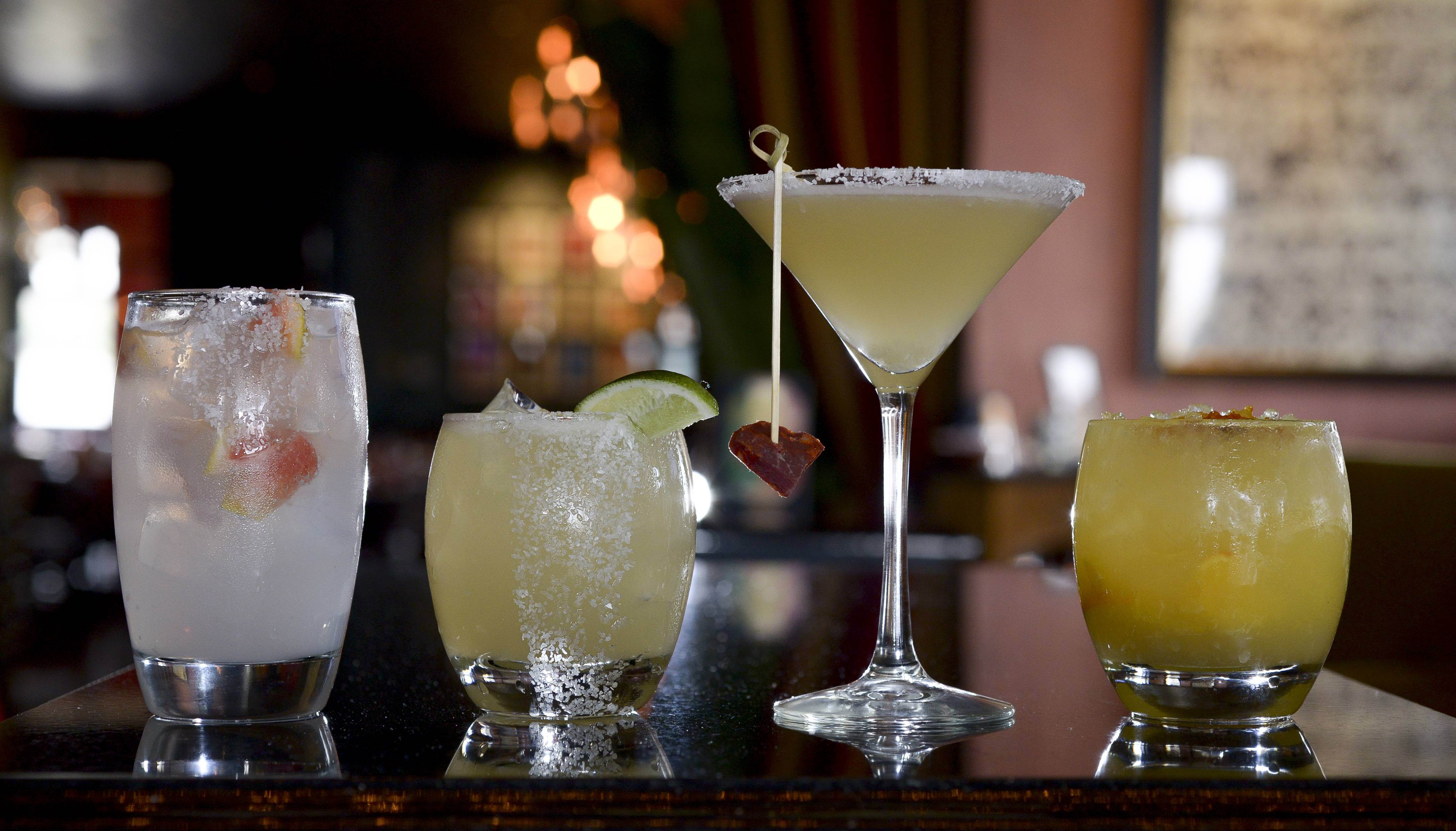 Barbakoa offers different takes on the margarita.