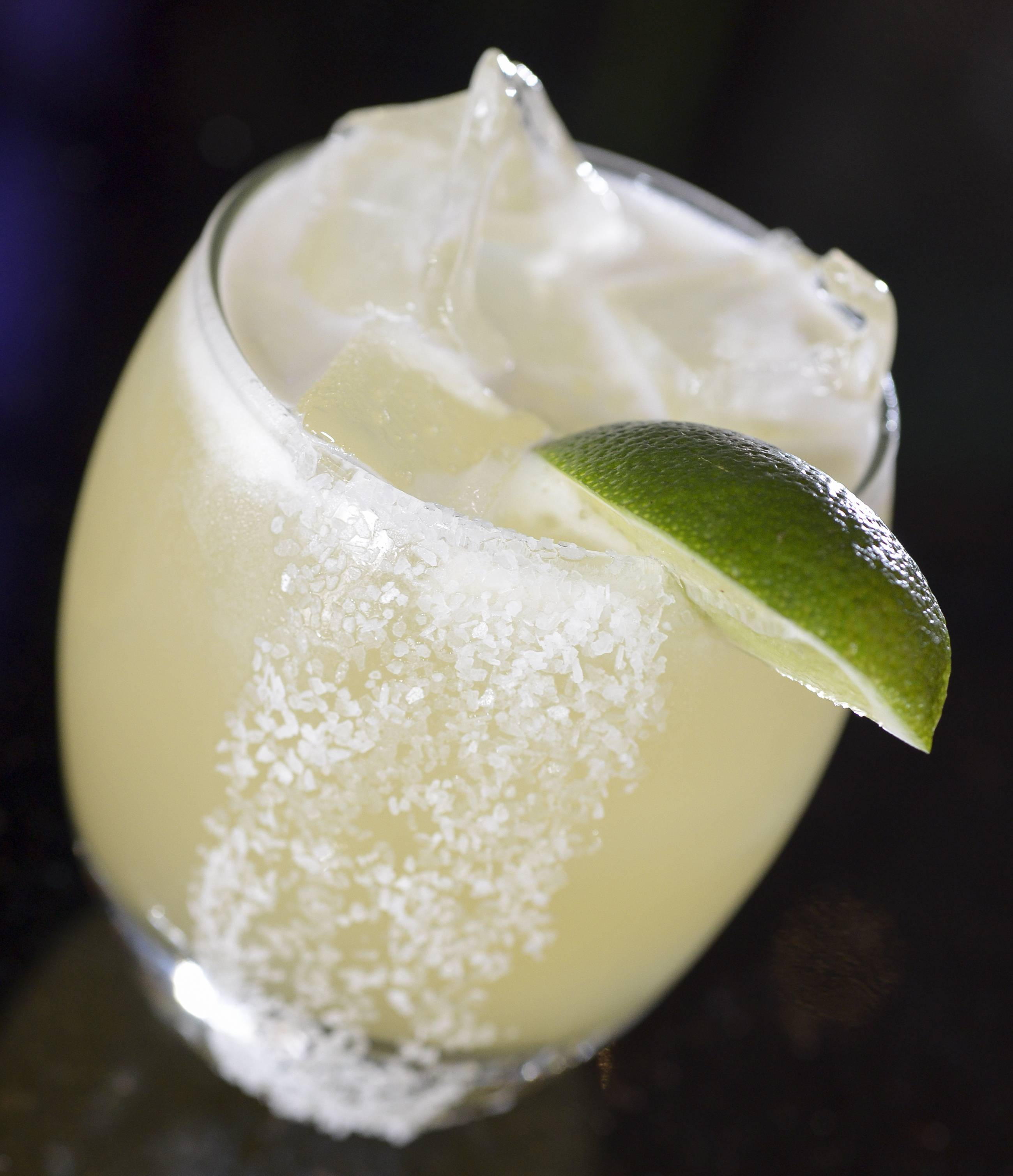 Barbakoa's Puro Margarita is made with tequila, bourbon, lime juice and agave nectar.