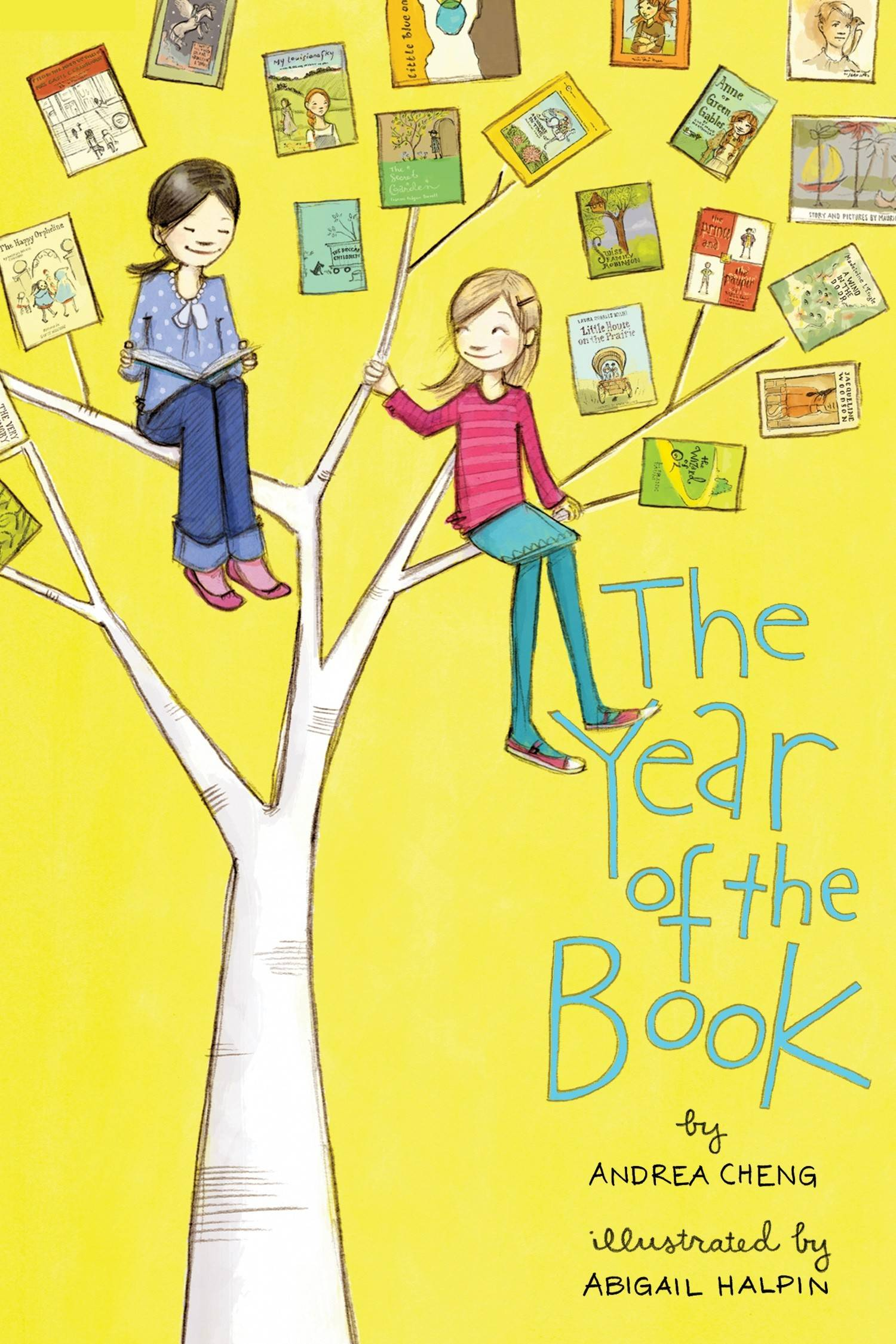 """The Year of the Book"" by Andrea Cheng"