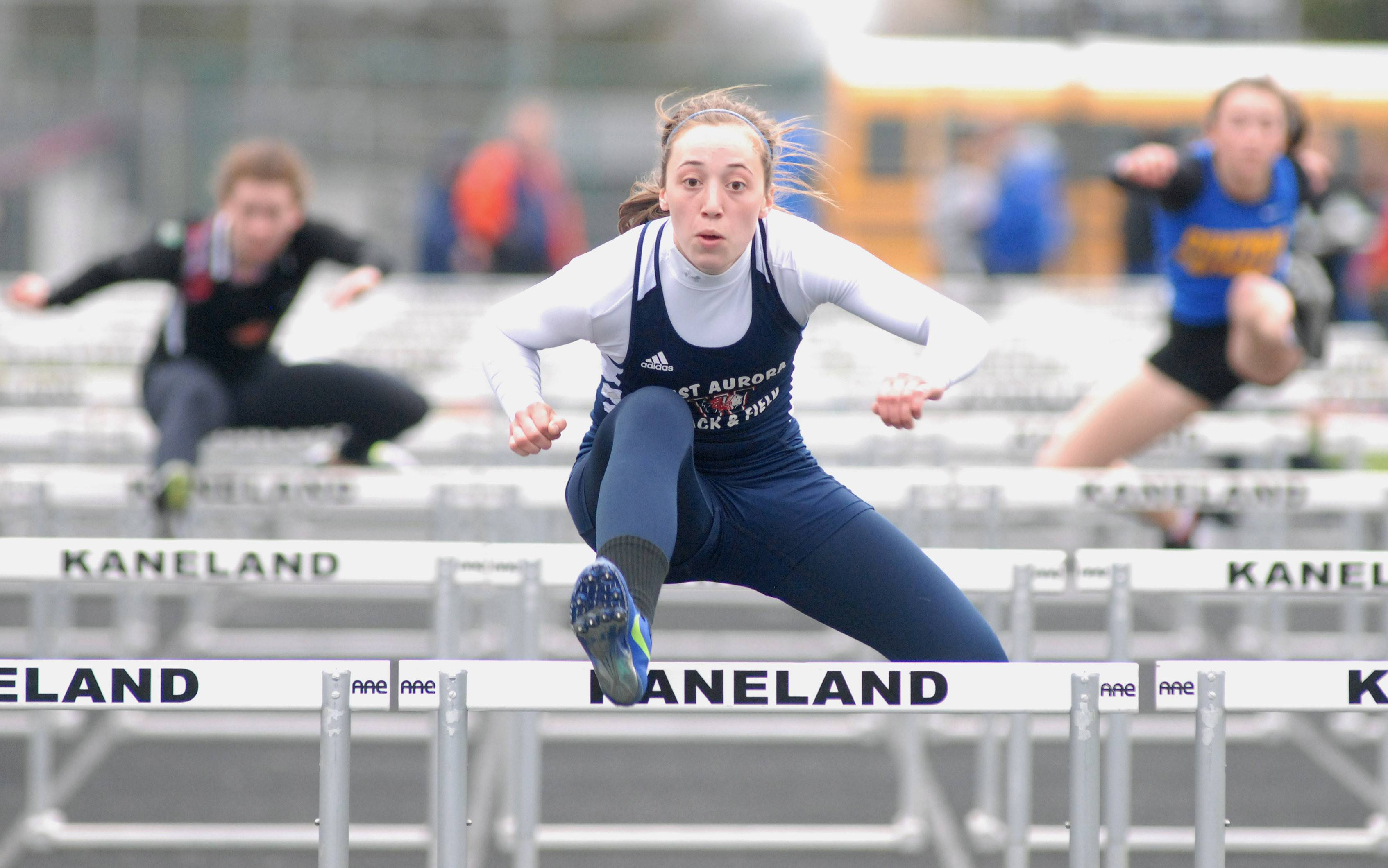 Emma Spagnola led West Aurora to the Kane County championship Friday night hosted by Kaneland in Maple Park.