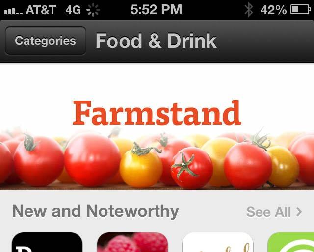 The Farmstand app, for iOS devices, depends on user-generated data to let shoppers know the locations and hours of their local markets.