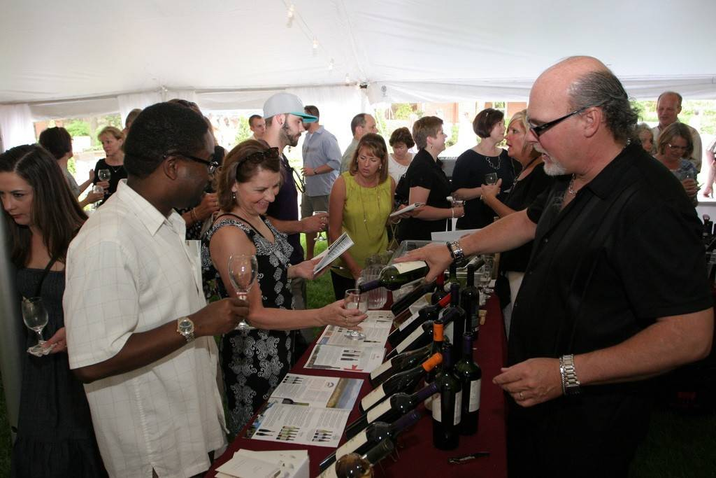 Sip and sample an array of 150 wines from around the world May 17 at the St. Ambrose University Wine Festival on the campus in Davenport, Iowa.
