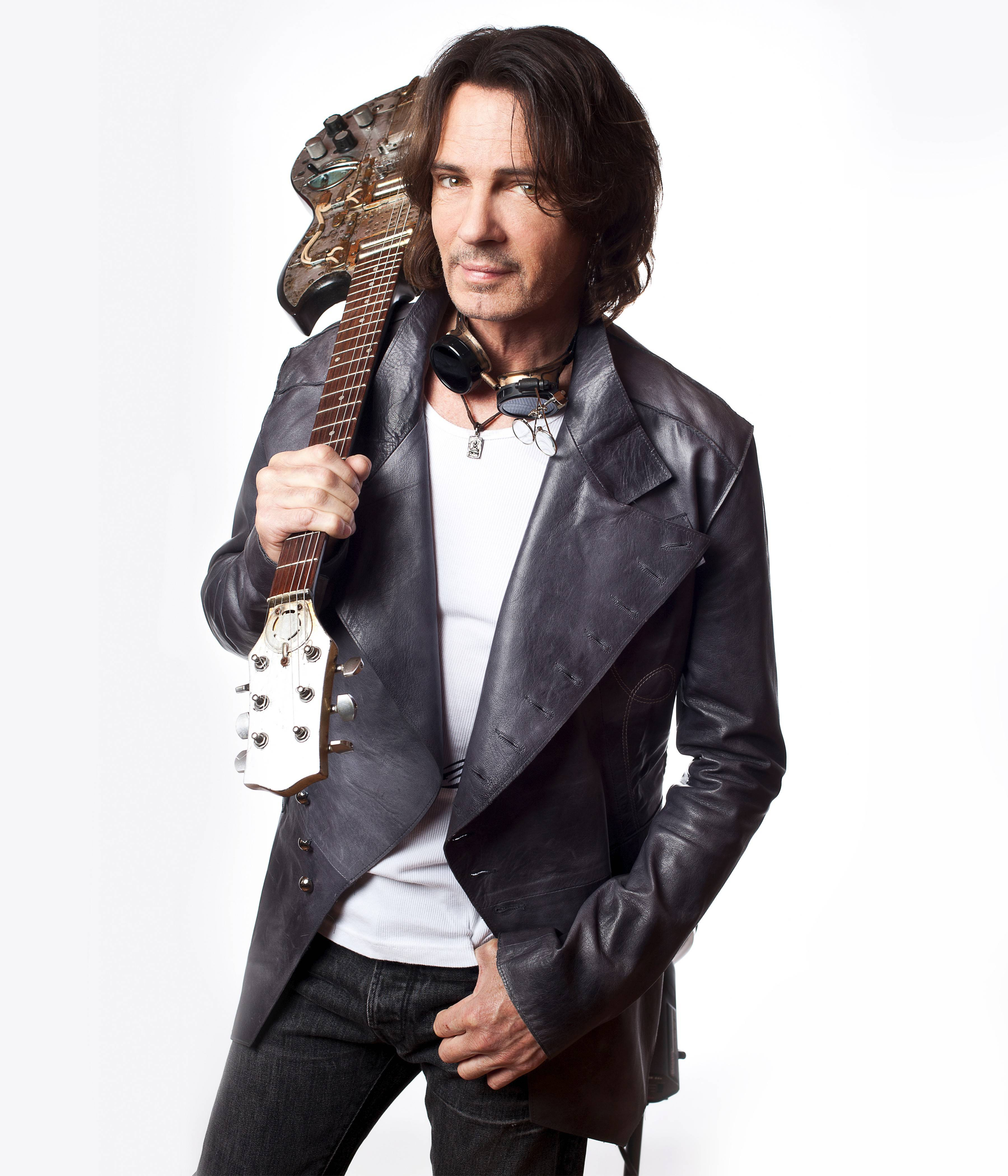 "Rick Springfield signs copies of his novel ""Magnificent Vibration"" at 7 p.m. Wednesday, May 7, at Anderson's Bookshop in Naperville."