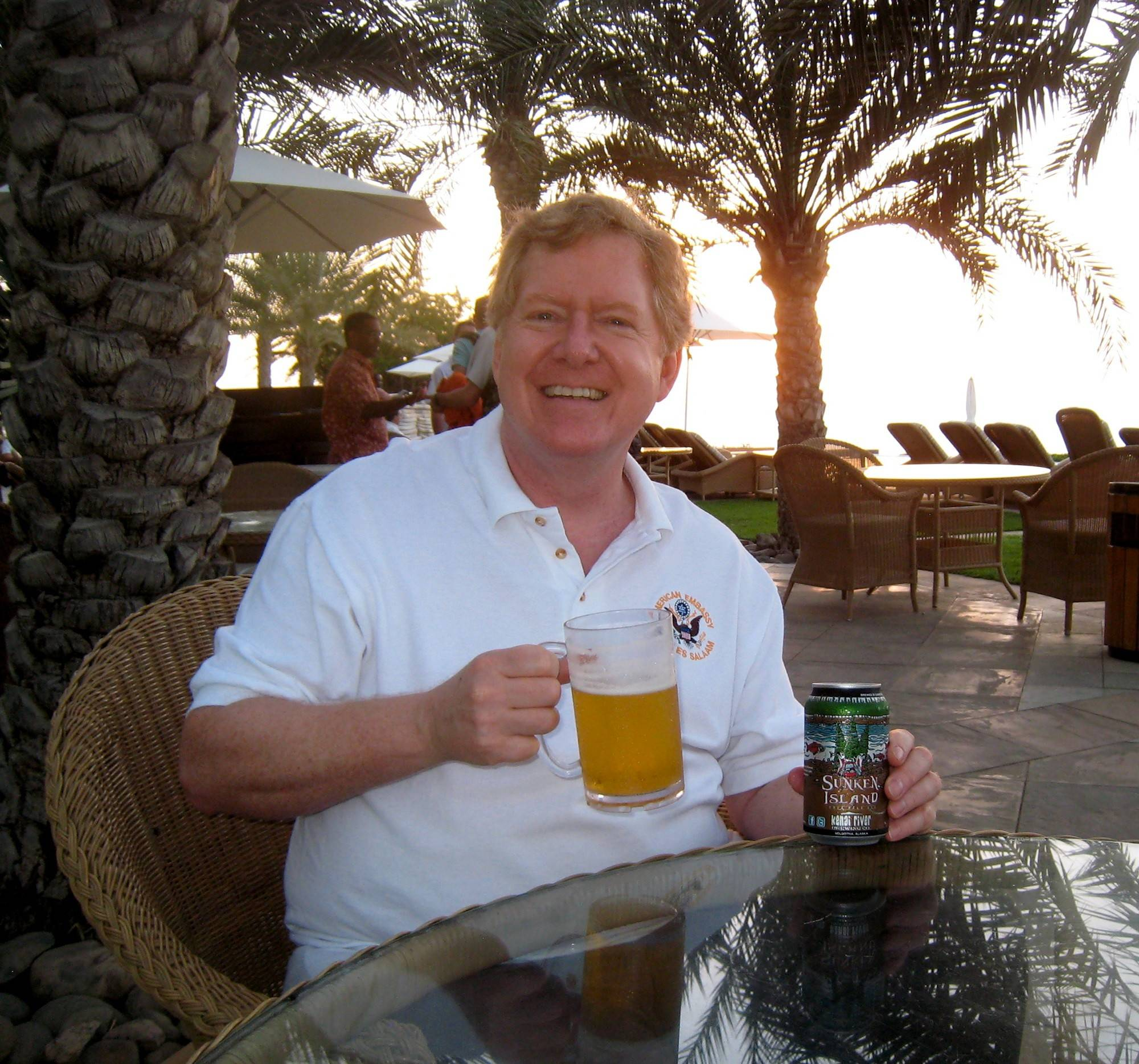 Gene Bonventre hosts a tasting in Djibouti in East Africa. He has sampled beers all around the world and has made about a dozen weekend beer trips to far-flung destinations in the past few years.
