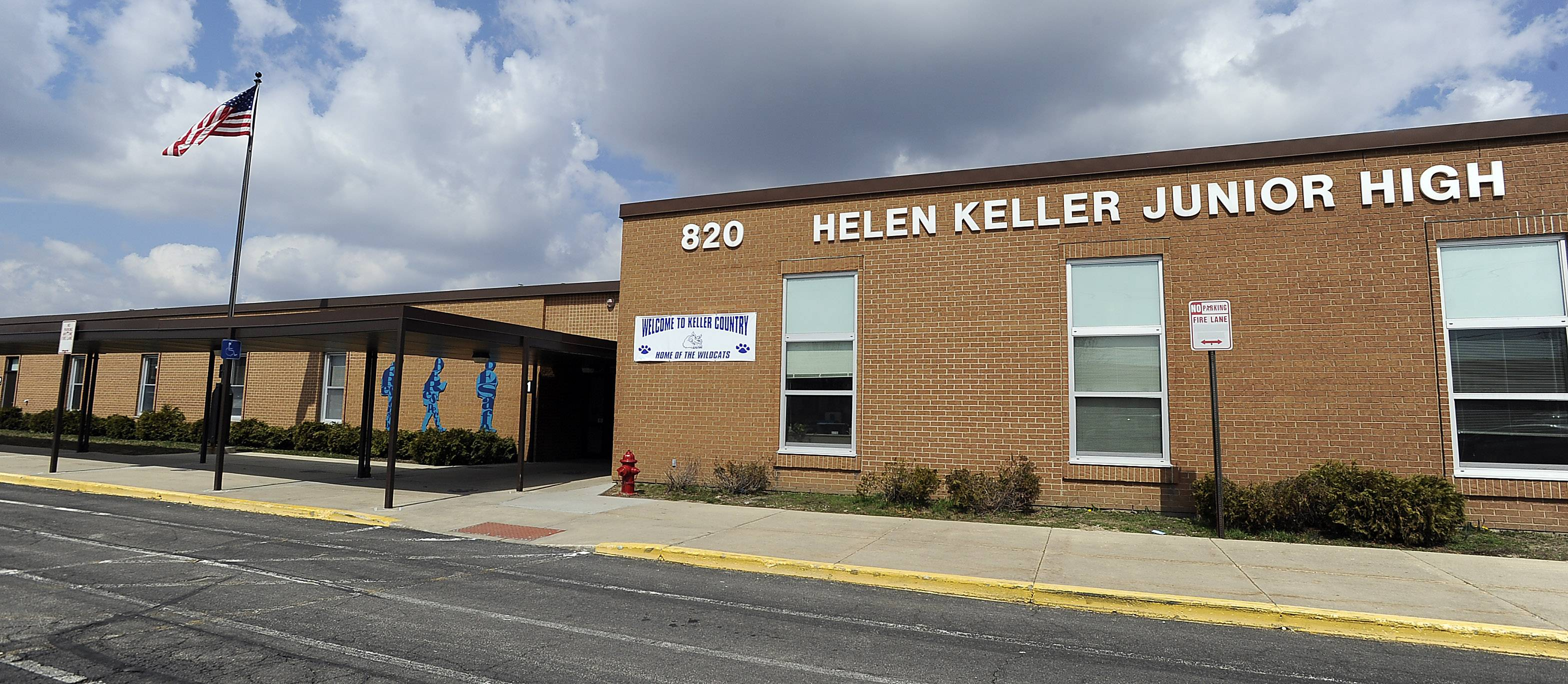 Keller Junior High School in Schaumburg houses some of Schaumburg Township Elementary District 54's early childhood programs. The district is moving all of its early childhood programs under one roof next year as part of a $19.5 million project.