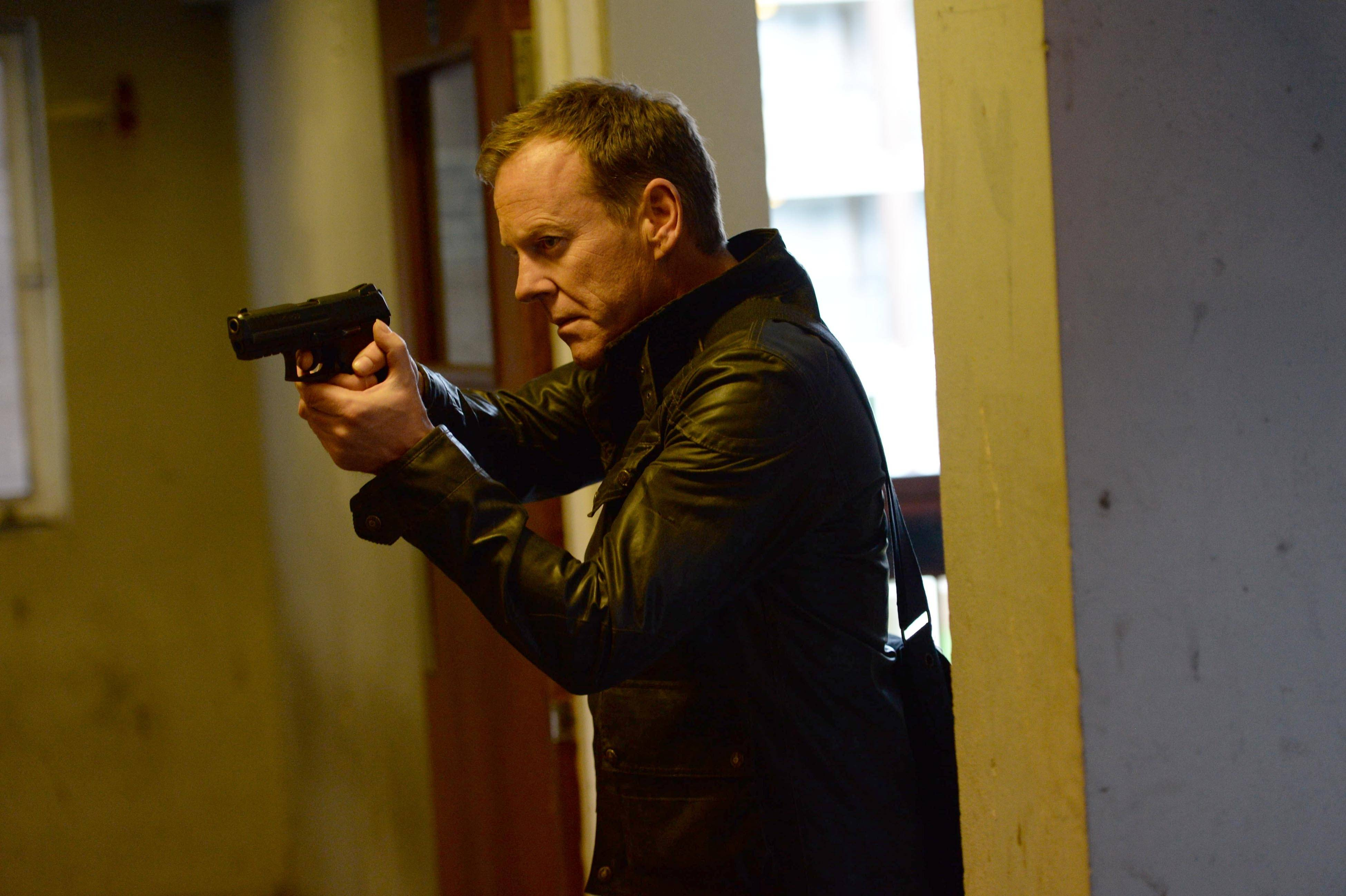 "Kiefer Sutherland returns as Jack Bauer in ""24: Live Another Day,"" premiering at 7 p.m. Monday, May 5, on Fox."
