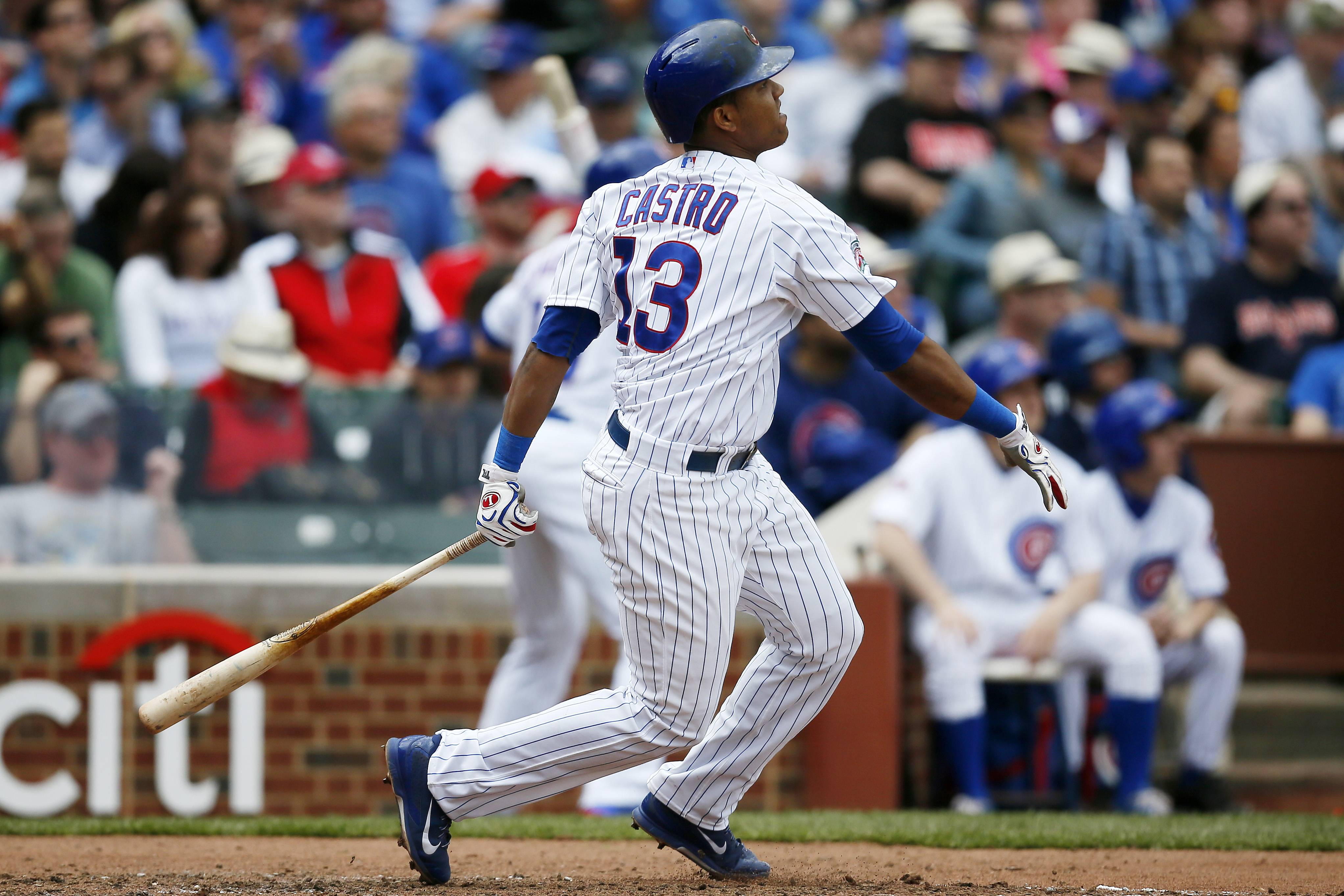 Cubs shortstop Starlin Castro looks like a different person both on and off the field, according to Bruce Miles.