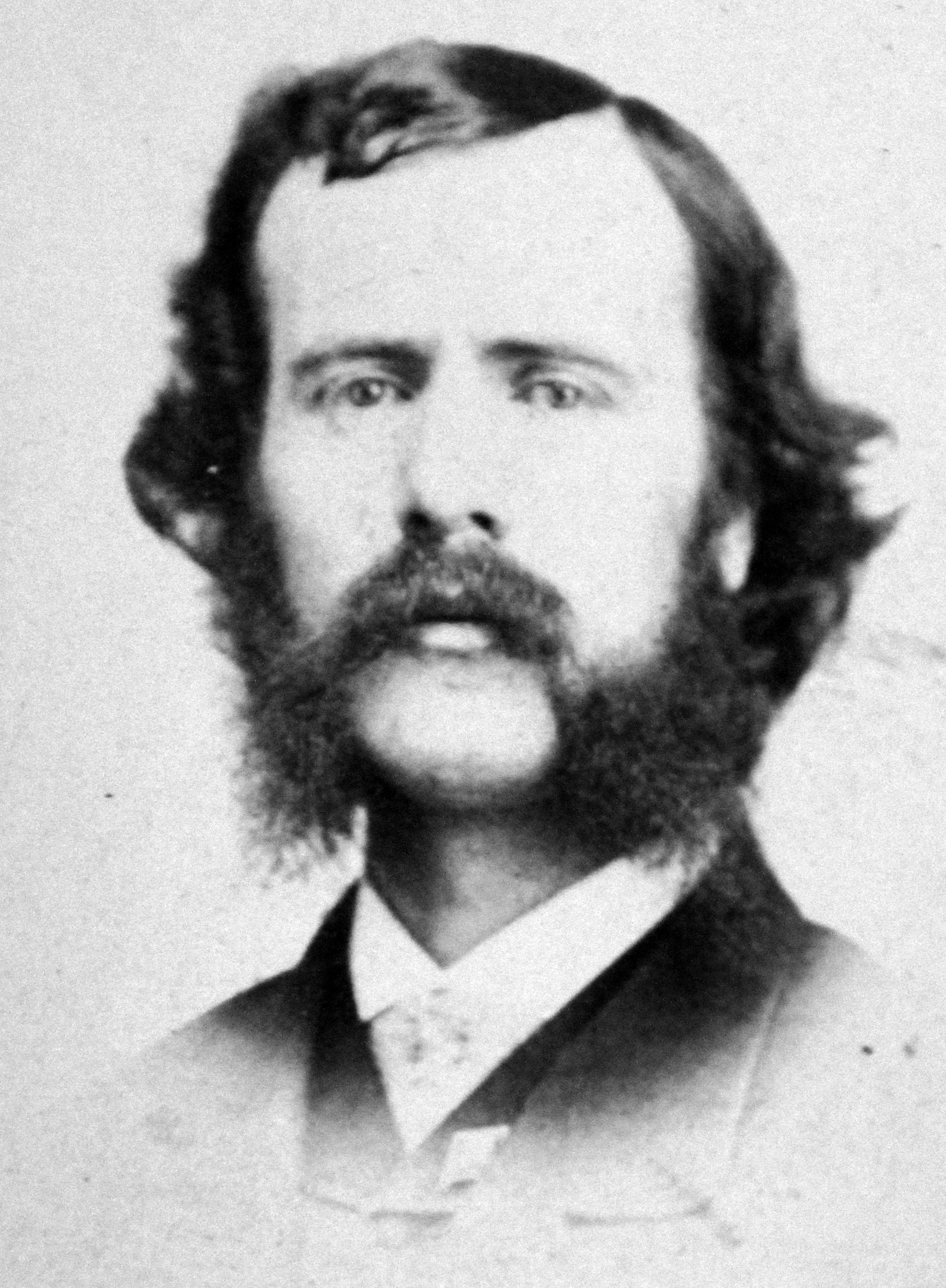 James John Howard Gregory as a college student in the late 1840s.