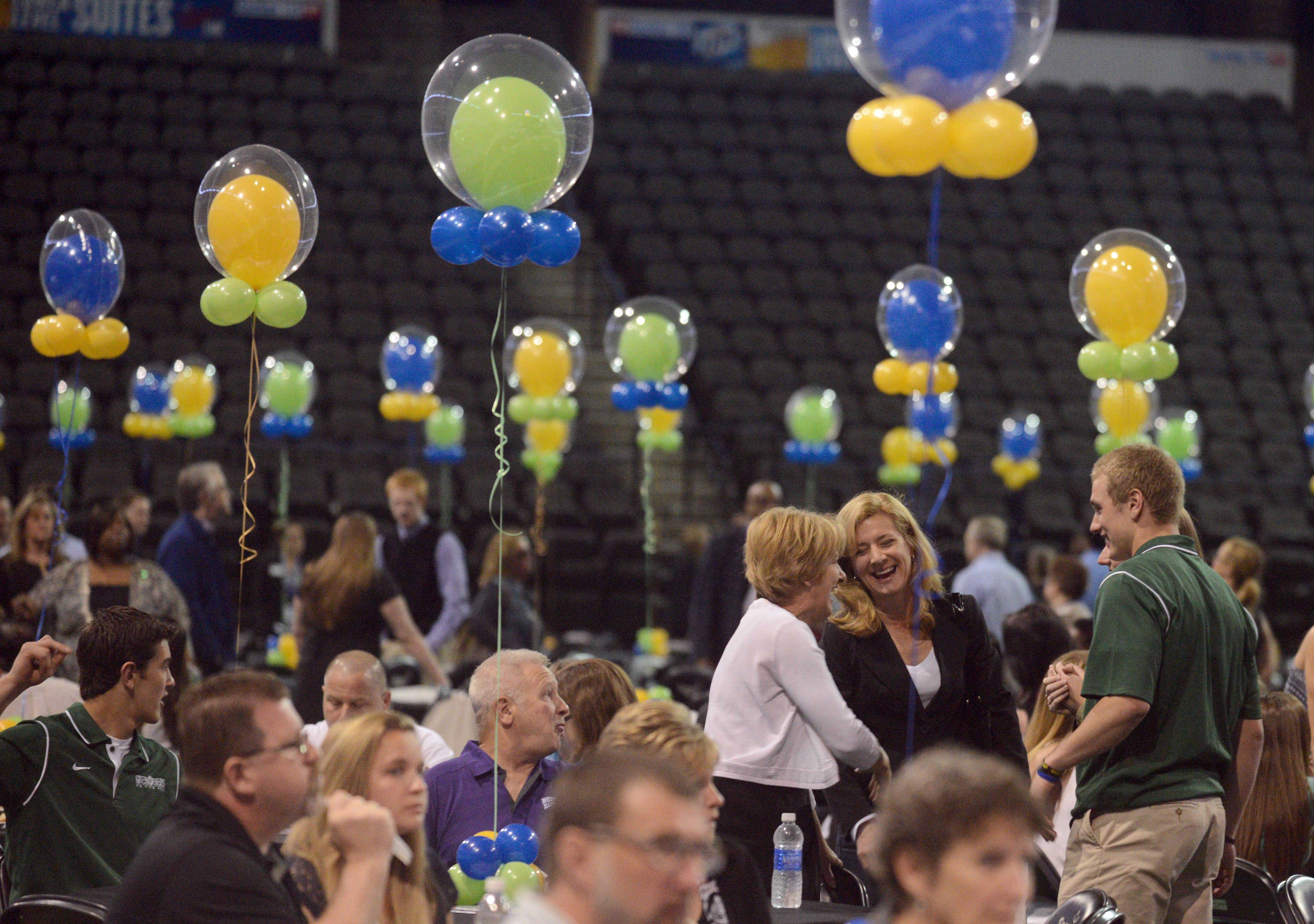 Images from the Daily Herald Prep Sports Excellence event at the Sears Centre in Hoffman Estates on Sunday afternoon.