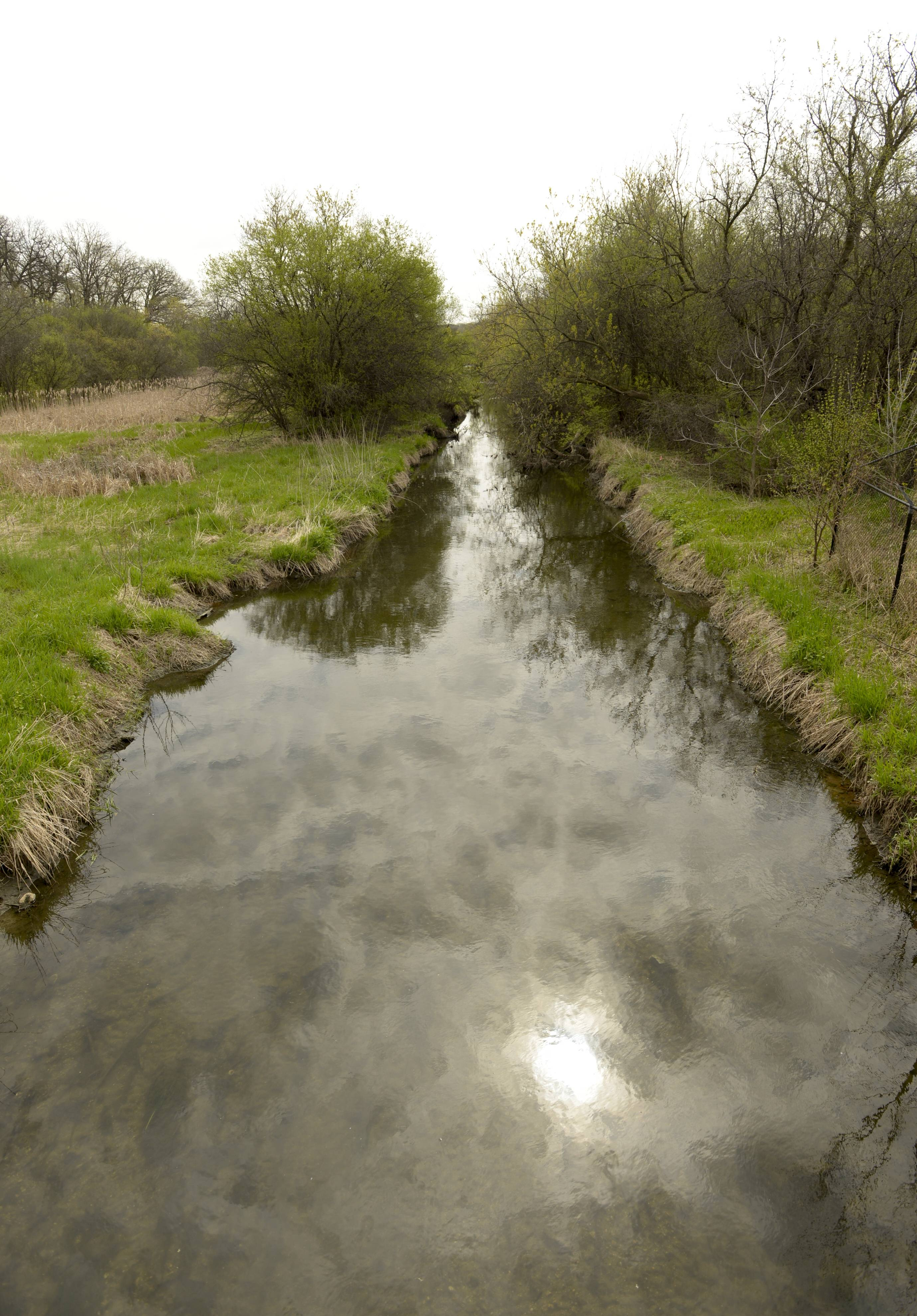 The state tollway authority has agreed to pay for the restoration of a portion of Spring Brook Creek that runs though St. James Farm Forest Preserve near Warrenville.