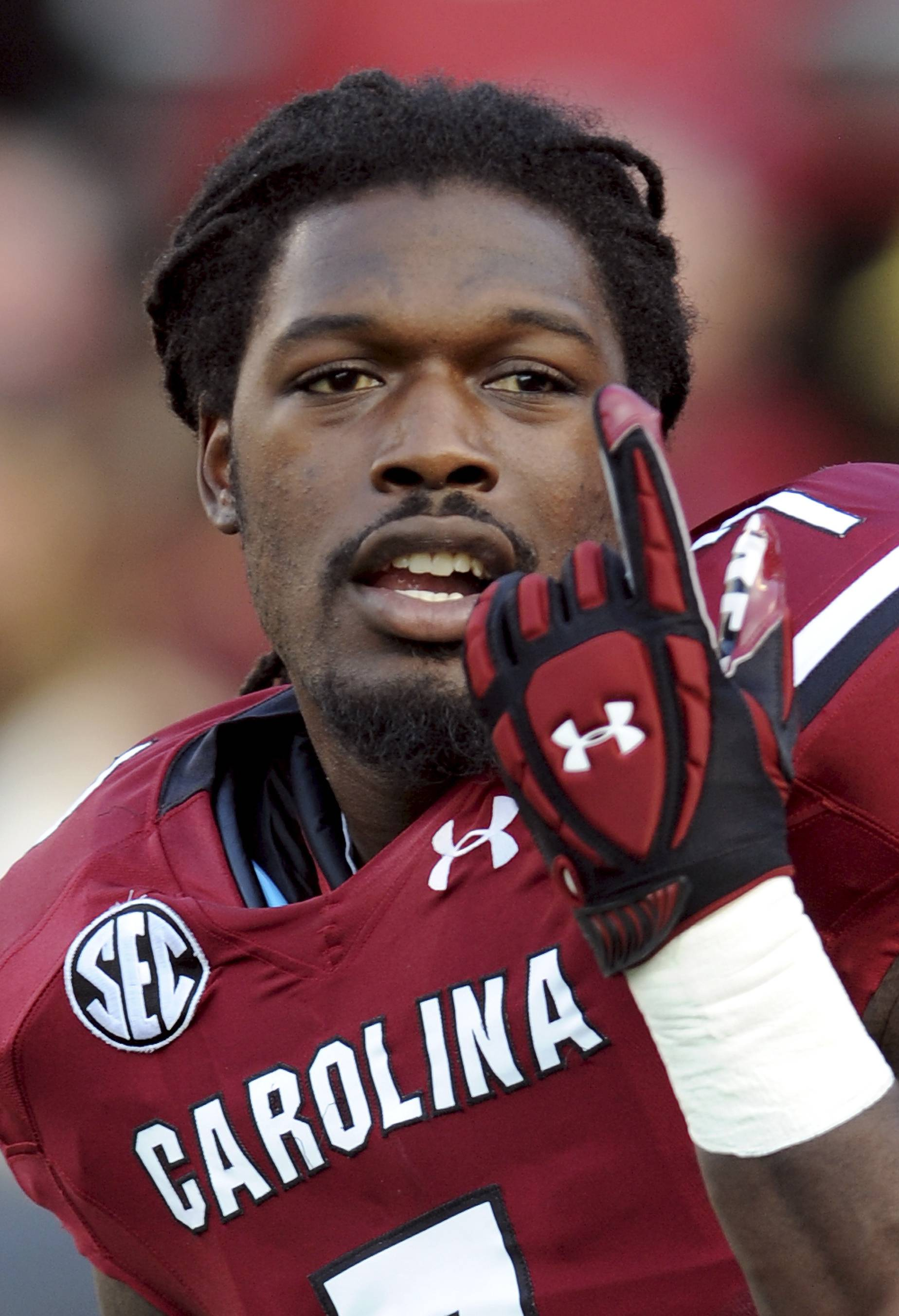 South Carolina defensive end Jadeveon Clowney finished last season with 11½ tackles for loss and three sacks after getting 23½ and 13 in 2012. He is a top prospect in the upcoming NFL draft.