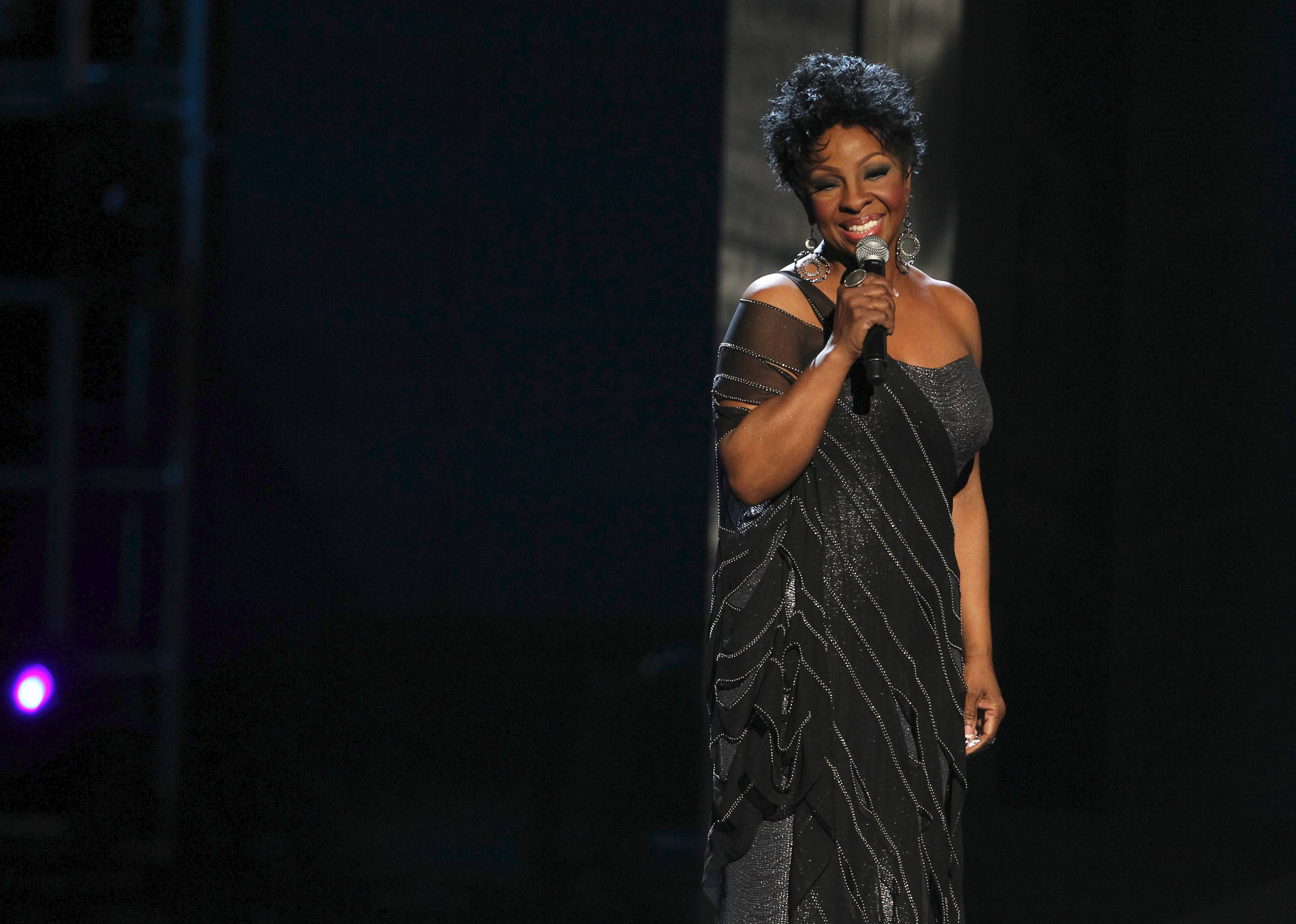 Gladys Knight performs with The Temptations Review featuring Dennis Edwards at the Chicago Theatre at 7:30 p.m. Friday, May 9.