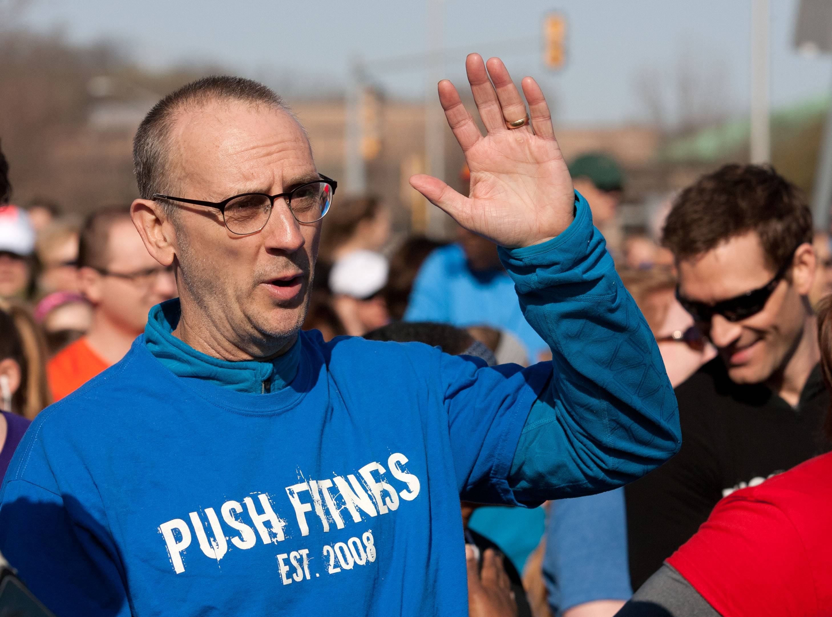 "Fittest Loser Tim Lange rediscovered his ""will to run"" at last Saturday's DuPage Human Race 5K in Downers Grove."