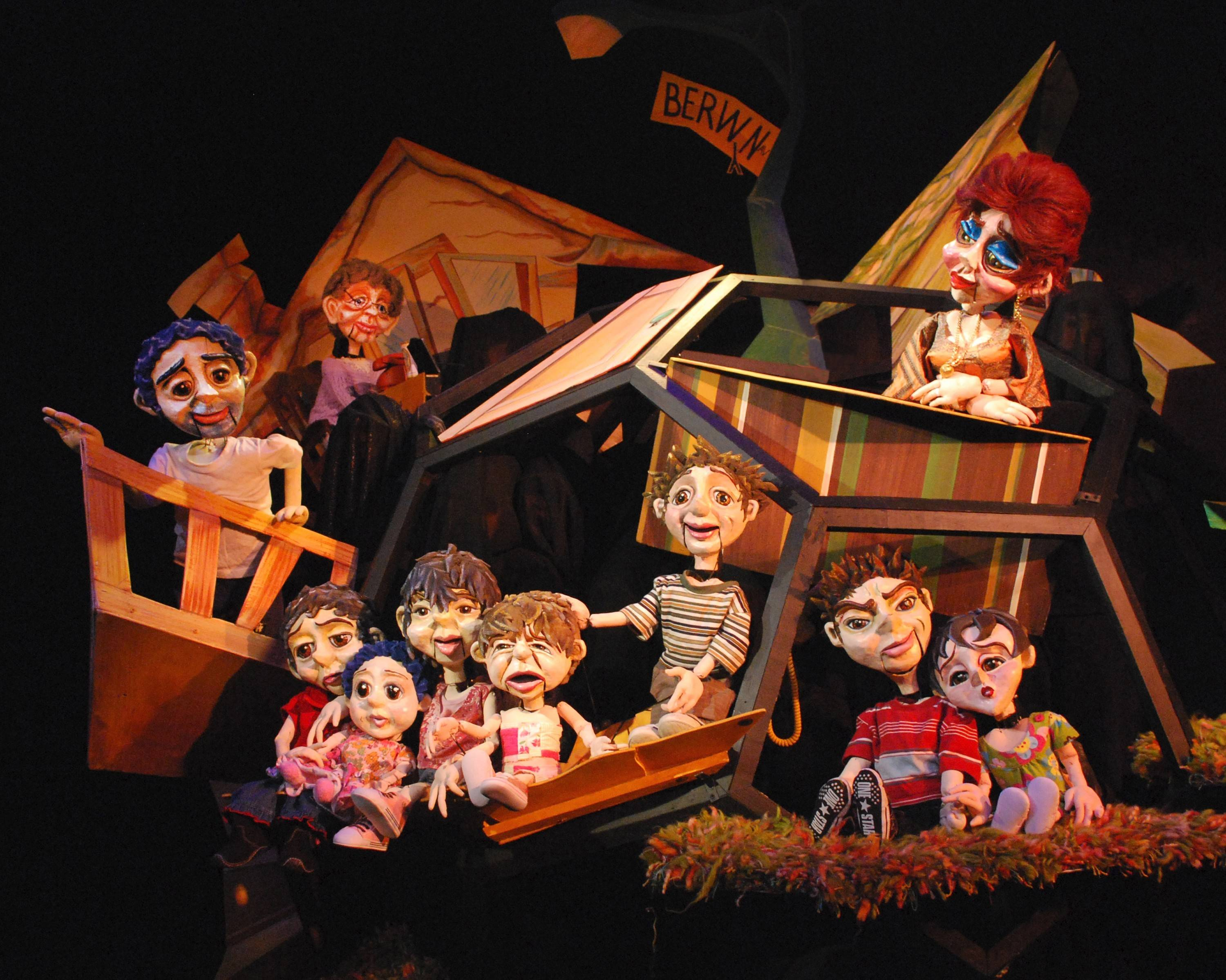 "Von Orthal Puppets are part of the homegrown ""Chicago Puppetolio,"" being staged at the International Children's Theater Festival."