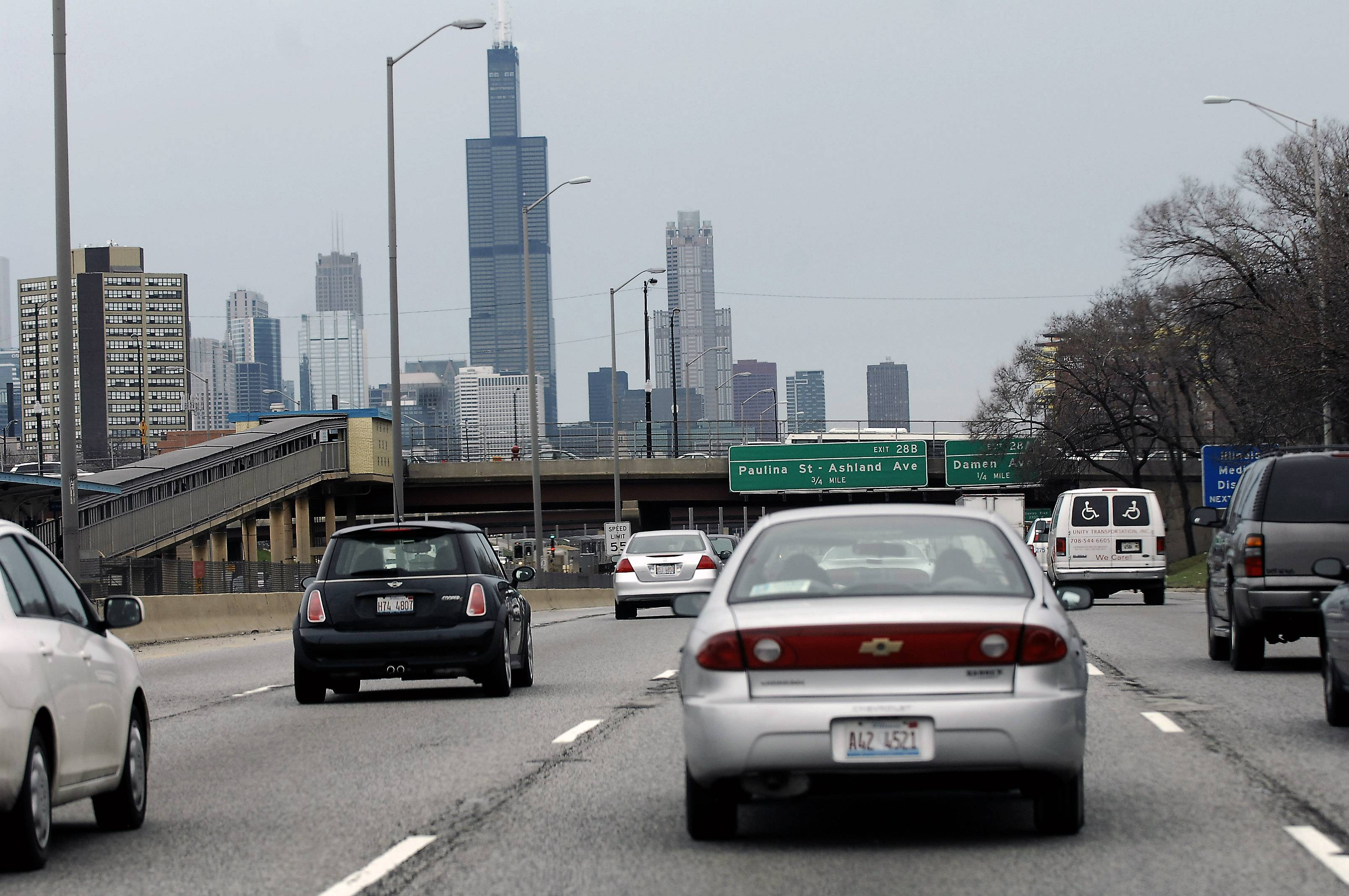 Is an Eisenhower Tollway in our future? The White House's $302 billion, four-year transportation bill filed last week gives its blessing to states to charge tolls on interstates under certain conditions.