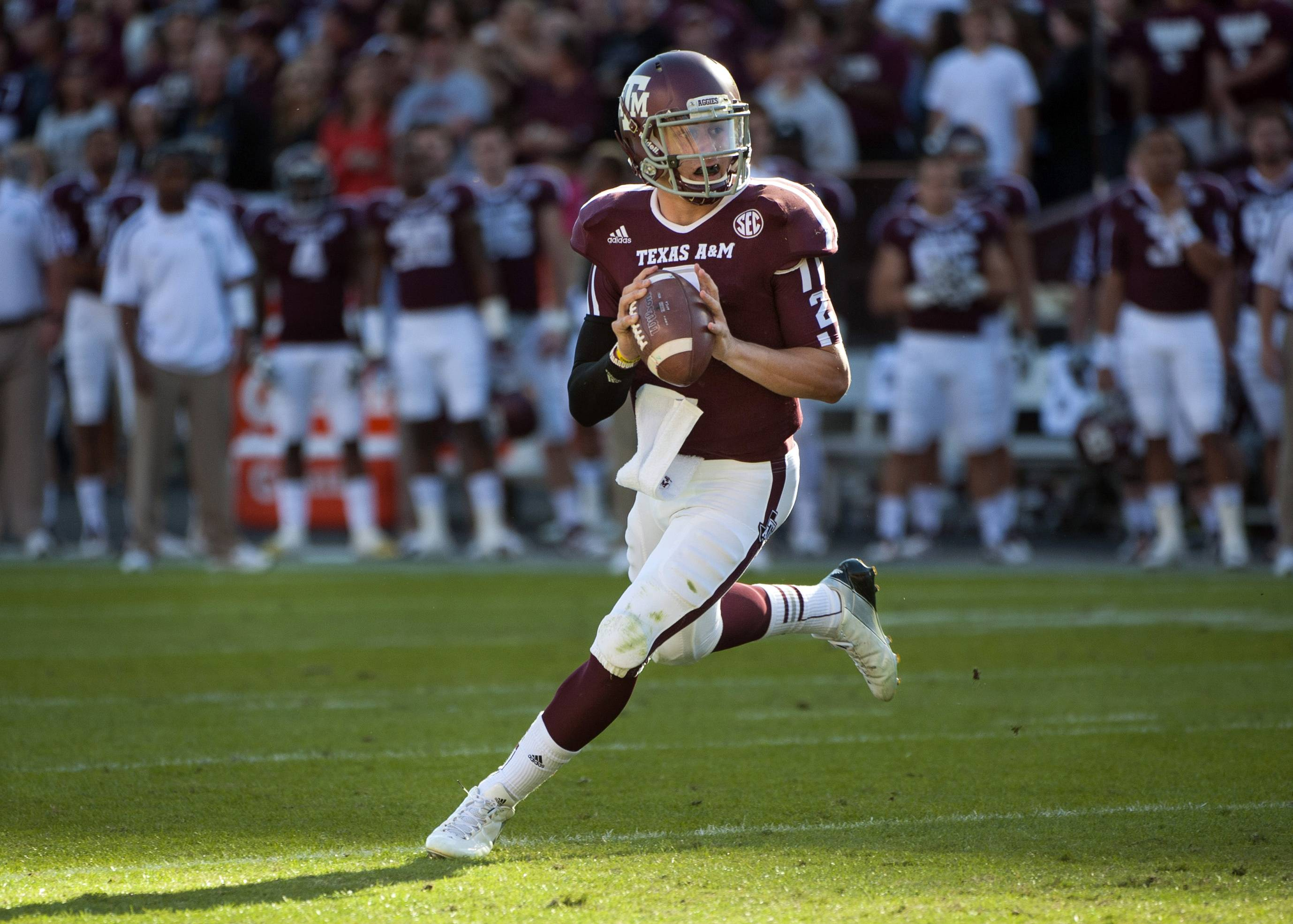 Johnny Manziel could be the answer to Cleveland's prayers at quarterback. The polarizing and popular Texas A&M star will likely be available when the Browns pick fourth in next week's NFL draft.