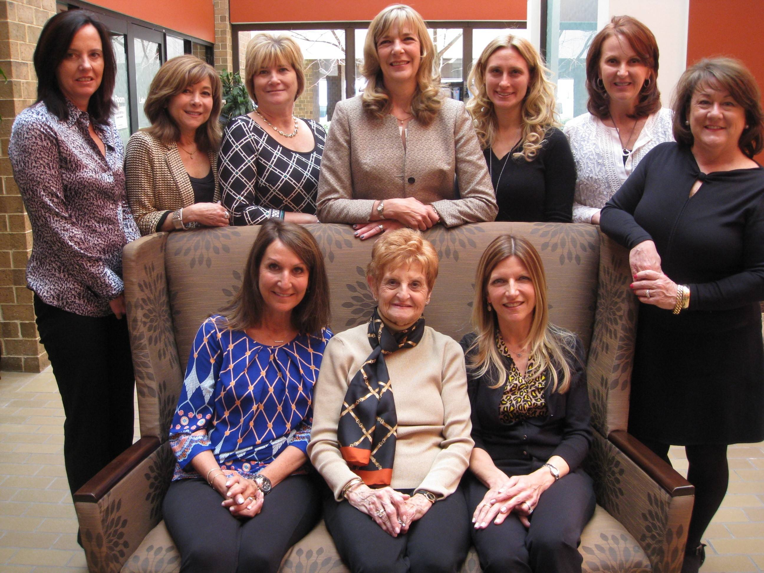 2014 Gala Committee members are: Back row: Kim Gockenbach, Lori Young, Kellie Hartman, Kathy Liska, Lauren Brynjelsen, Mary McGregor and Cindi Kahn; front row: Barb Warheit, Bettye Traylor and  Kendra Rosen. Not pictured: Larry Arndt, Alison Bozile, Cory Lichtenberger and Jeanne Varwig.