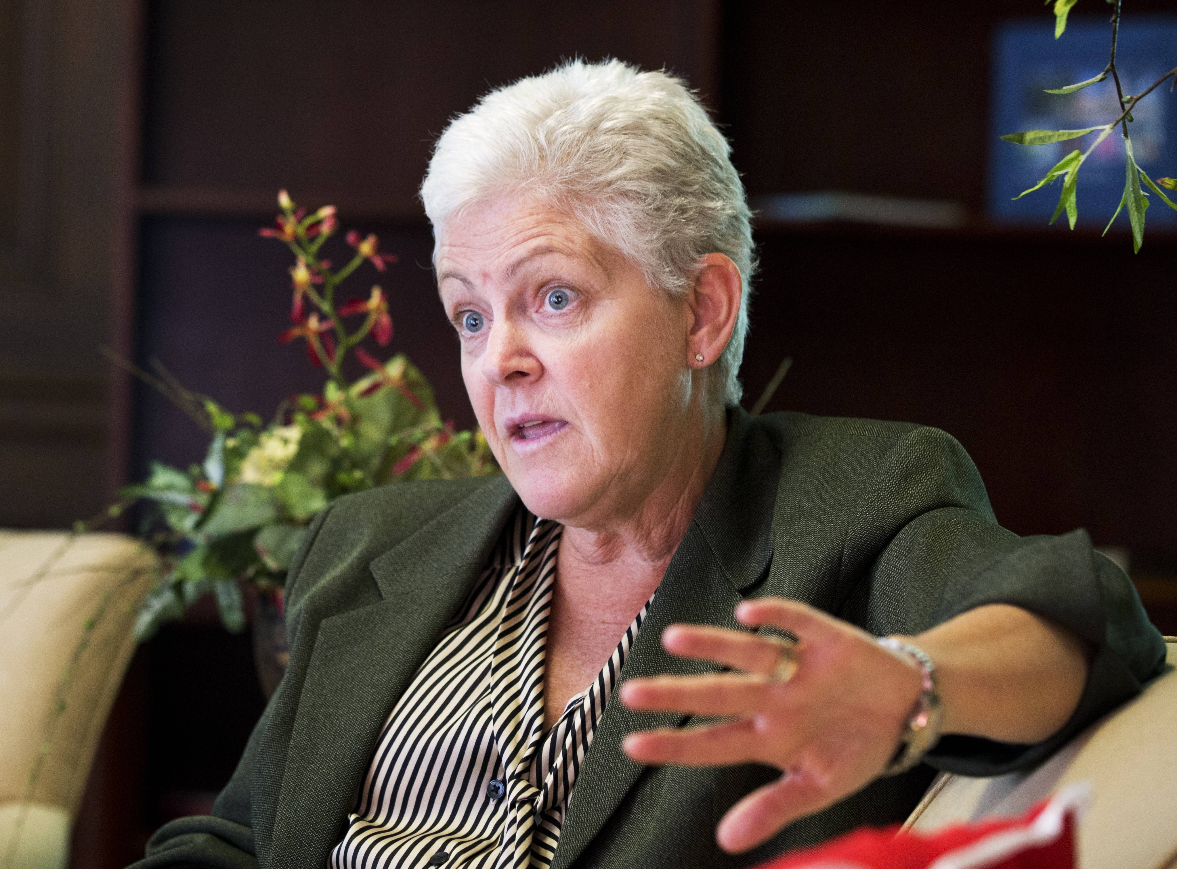 "The EPA's inspector general is accusing a unit run by President Barack Obama's political staff inside the EPA of operating as a ""rogue law enforcement agency."" The EPA's Office of Homeland Security is overseen by the chief of staff to Environmental Protection Agency Administrator Gina McCarthy. McCarthy is seen here."