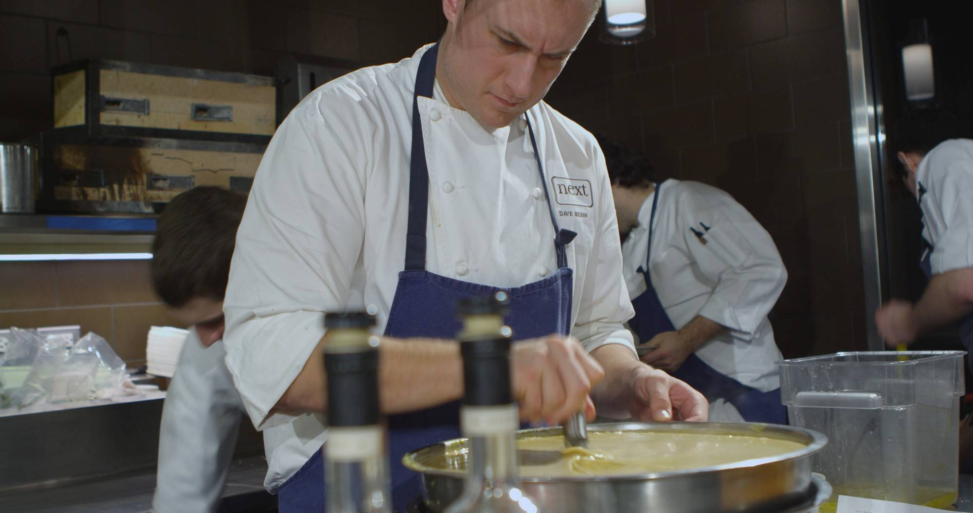Dave Beran of Next in Chicago was named the James Beard Foundation top regional chef for the Great Lakes region.