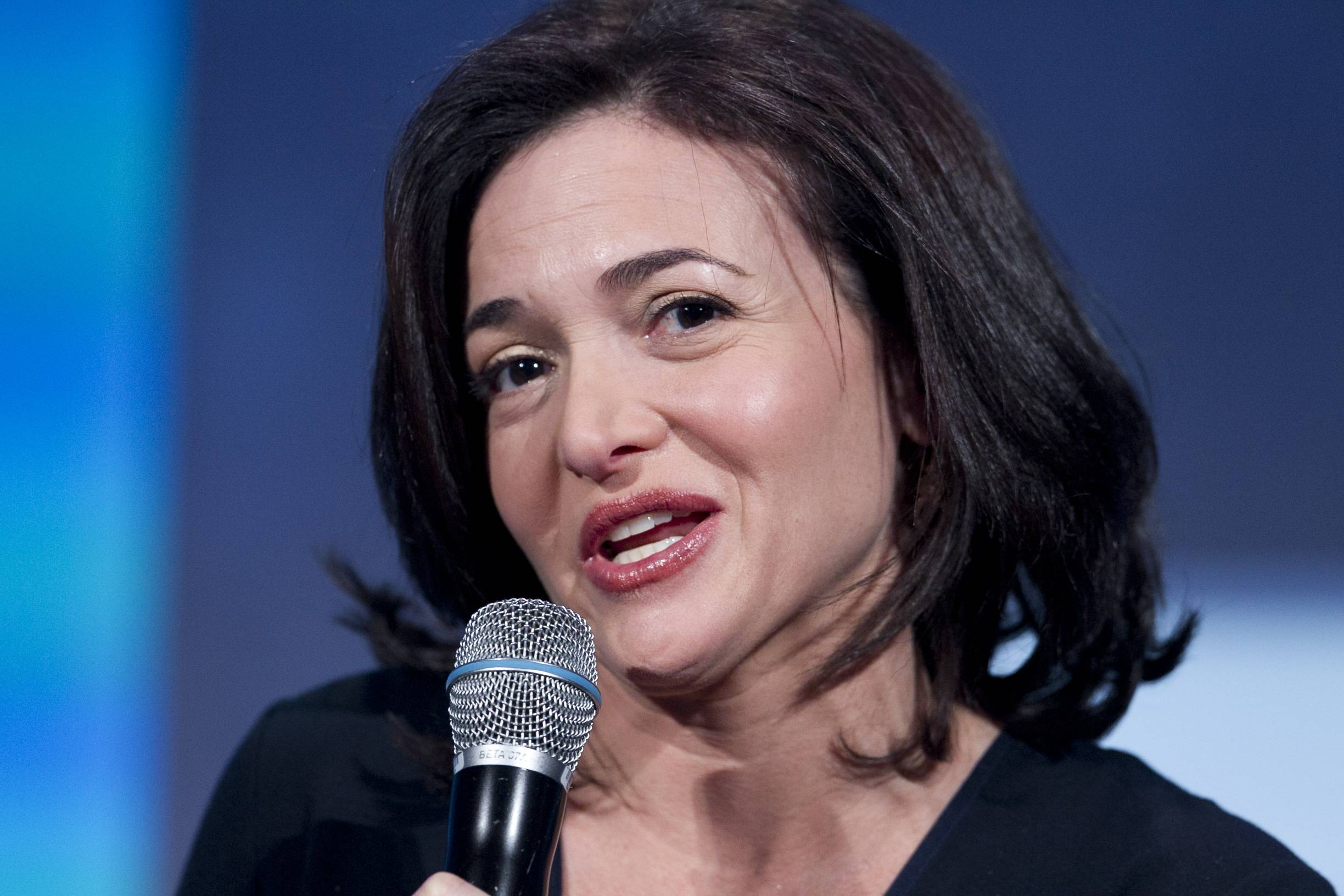 "Facebook's Sheryl Sandberg, the social media company's operating chief and ""Lean In"" author, says the key is showing business owners how to find new customers by creating Facebook pages and by buying ads that appear on individual Facebook users' pages."