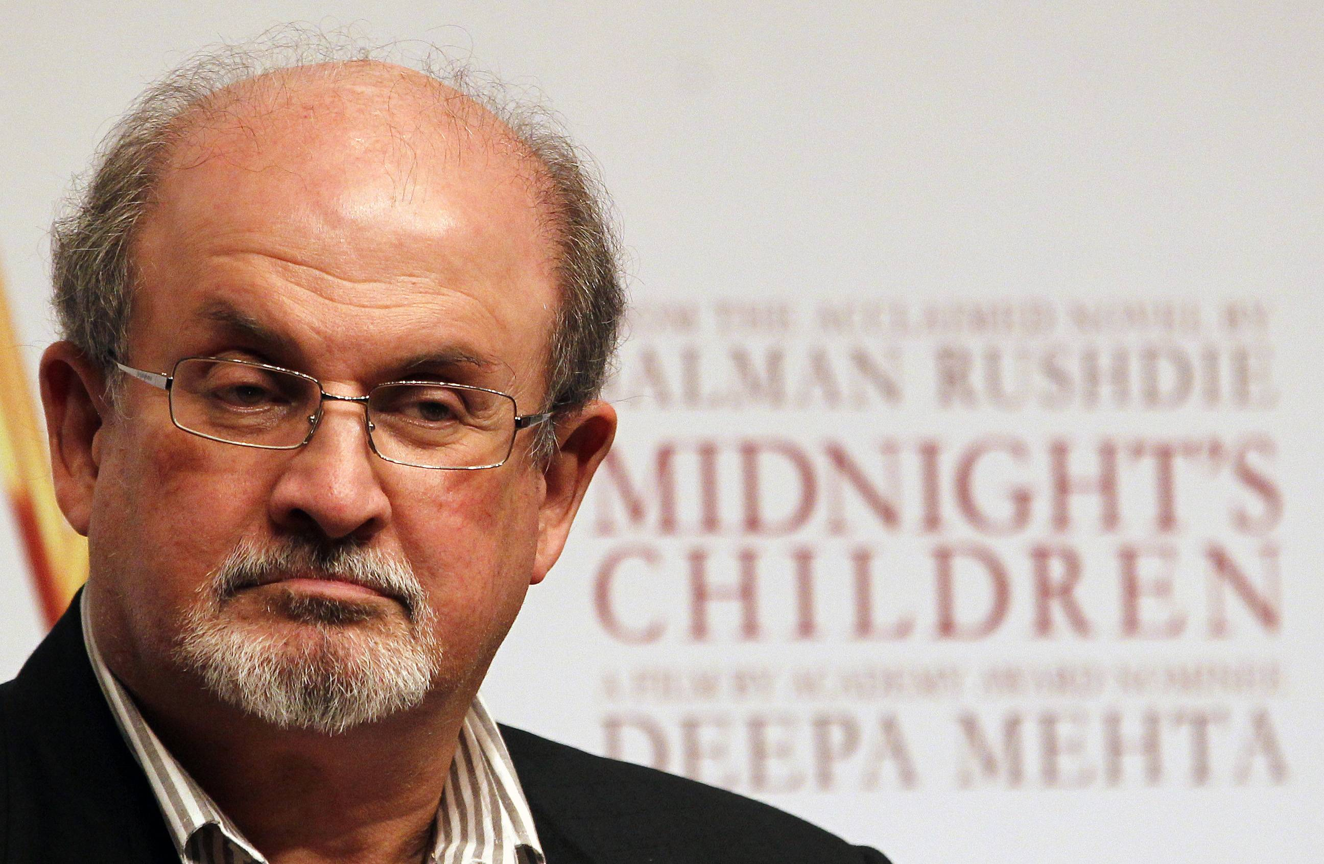 Author Salman Rushdie, Toni Morrison and two members of the Russian protest group Pussy Riot were among the featured speakers at a black-tie event championing freedom of expression.