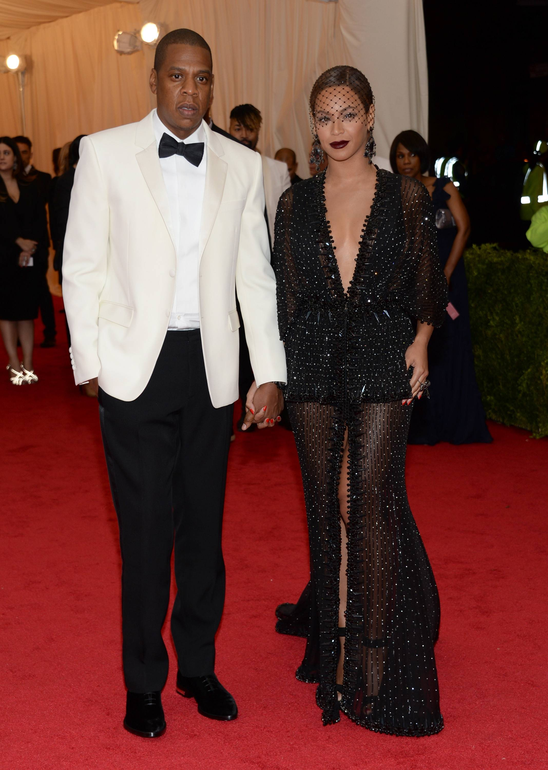 Jay Z and Beyonce sparkled at The Metropolitan Museum of Art's Costume Institute benefit gala.