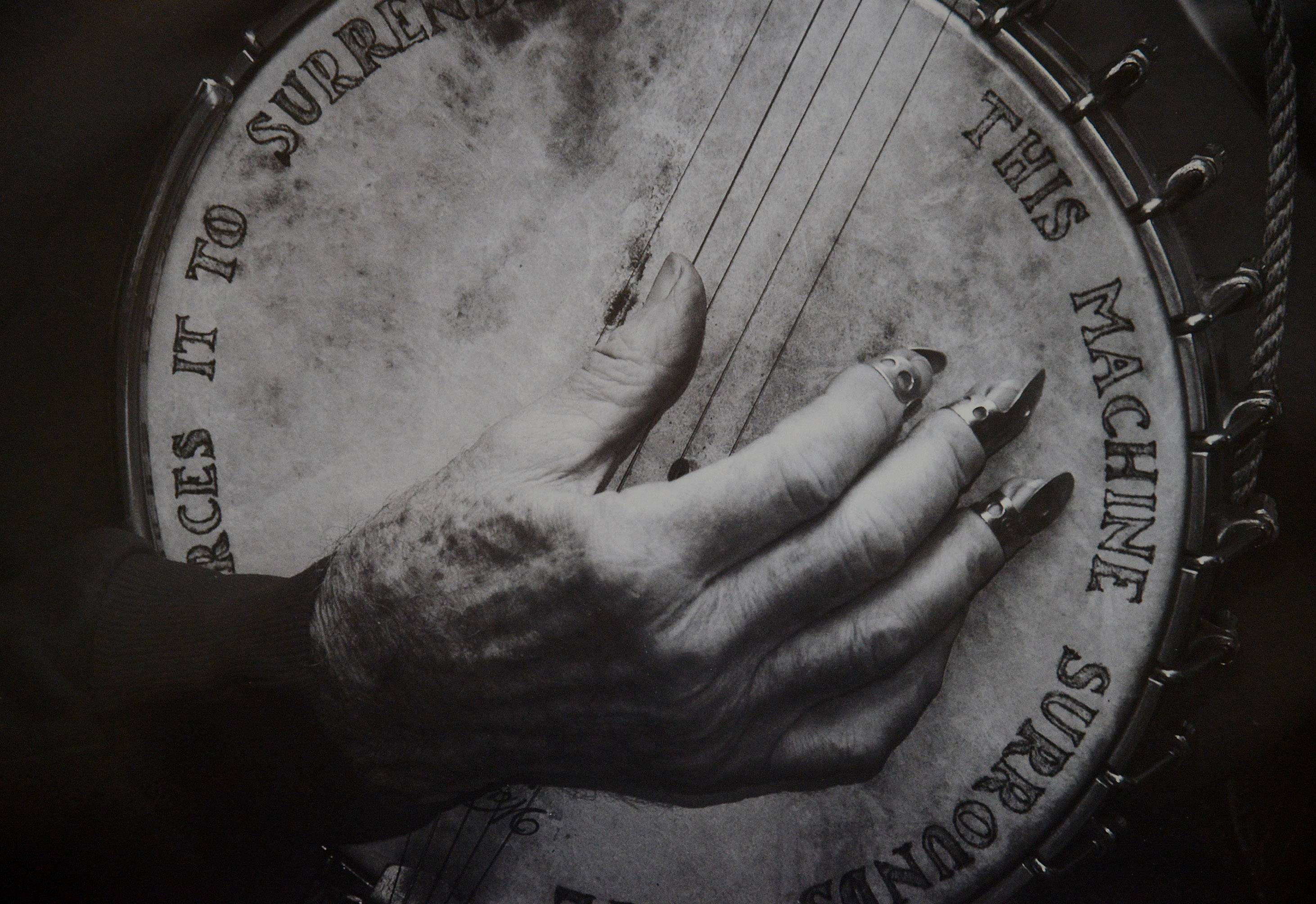 Deerfield photographer Bruce Mondschain's Pete Seeger Smithsonian work.
