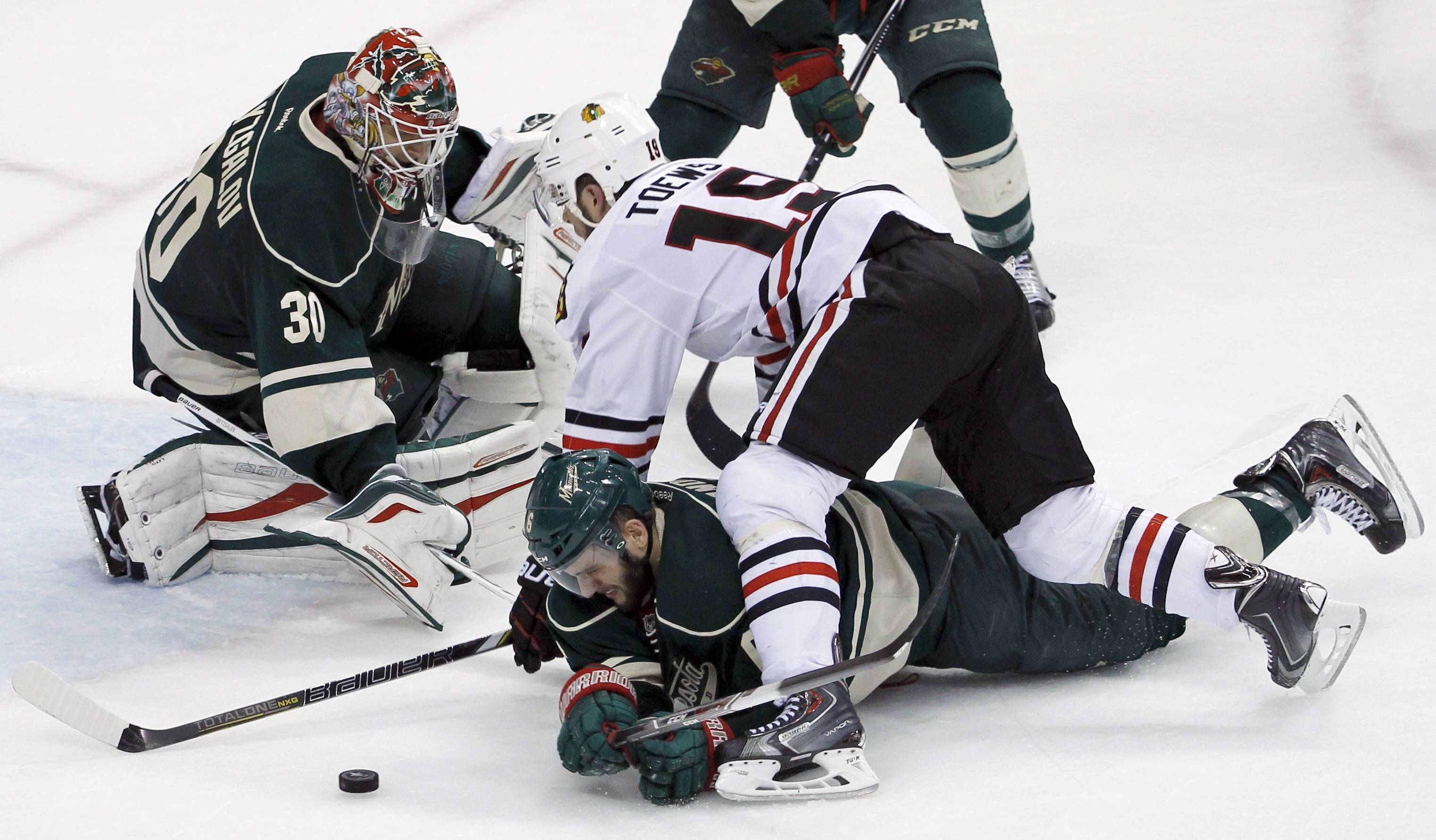 The Blackhawks lost 4-0 to the Minnesota Wild Tuesday night.