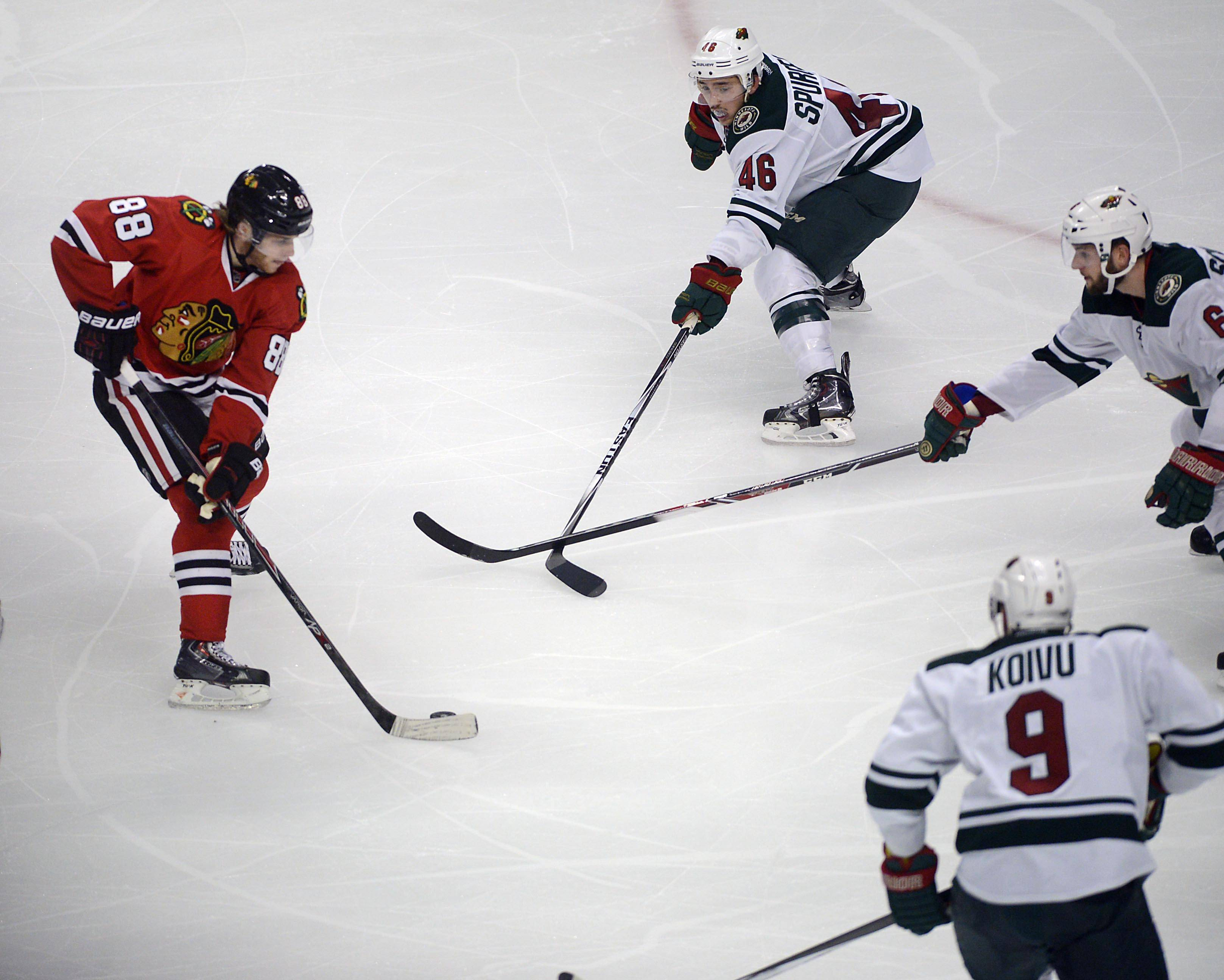 Patrick Kane dazzled Blackhawks fans Friday night with his defender-defying, backhand goal in the third period against the Minnesota Wild.
